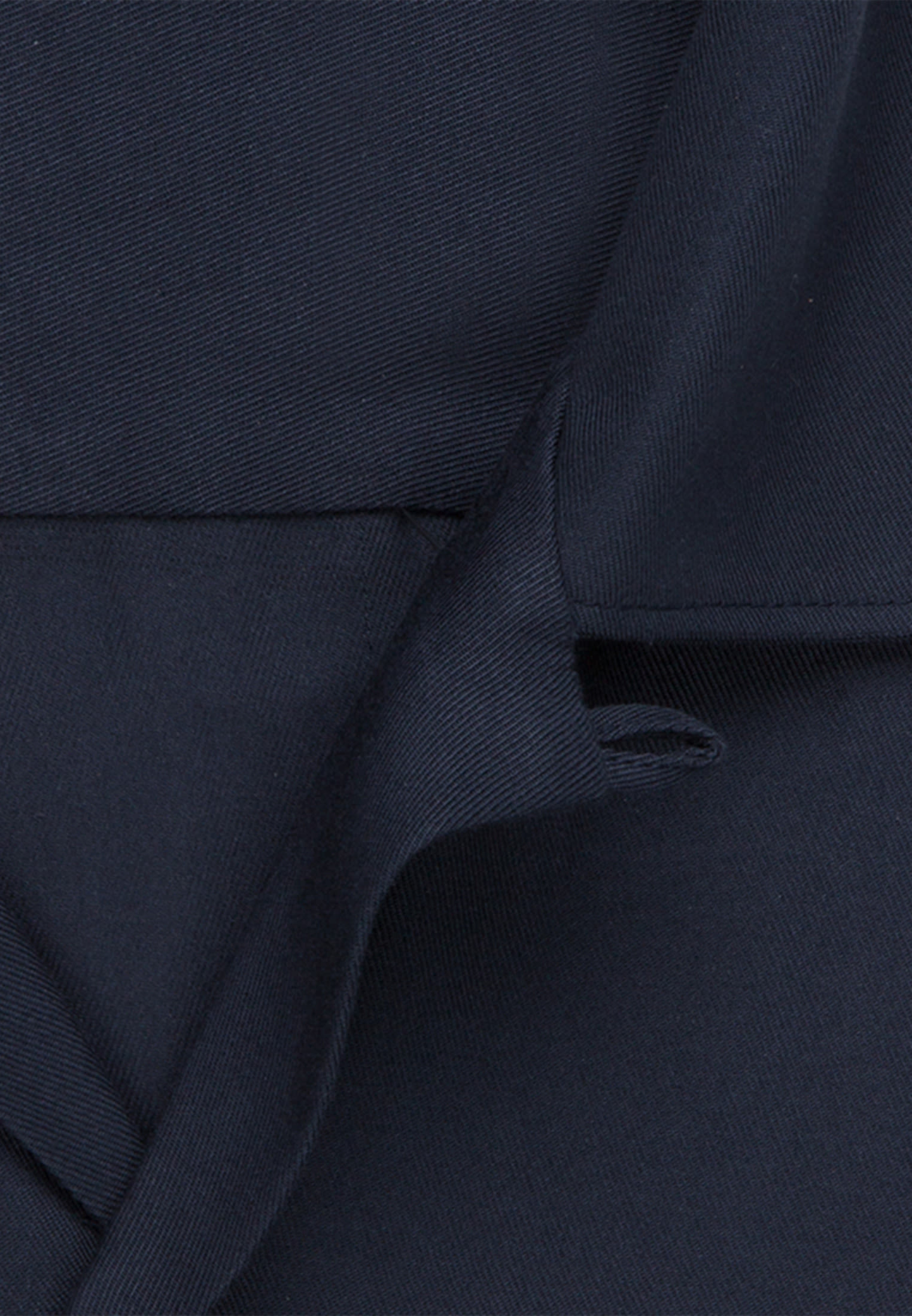 Easy-iron Twill Short arm Business Shirt in Shaped with lapel collar in Dark blue |  Seidensticker Onlineshop