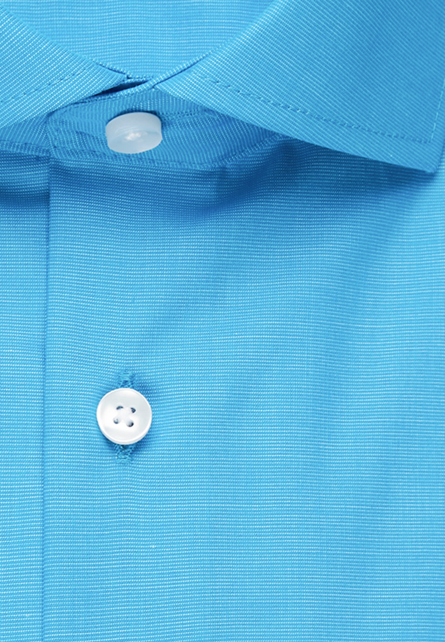 Non-iron Fil a fil Business Shirt in Regular with Kent-Collar in Turquoise |  Seidensticker Onlineshop