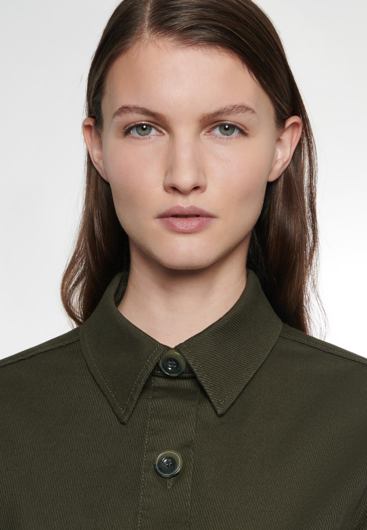 Twill Jacke aus 100% Baumwolle in Grün    Seidensticker Onlineshop