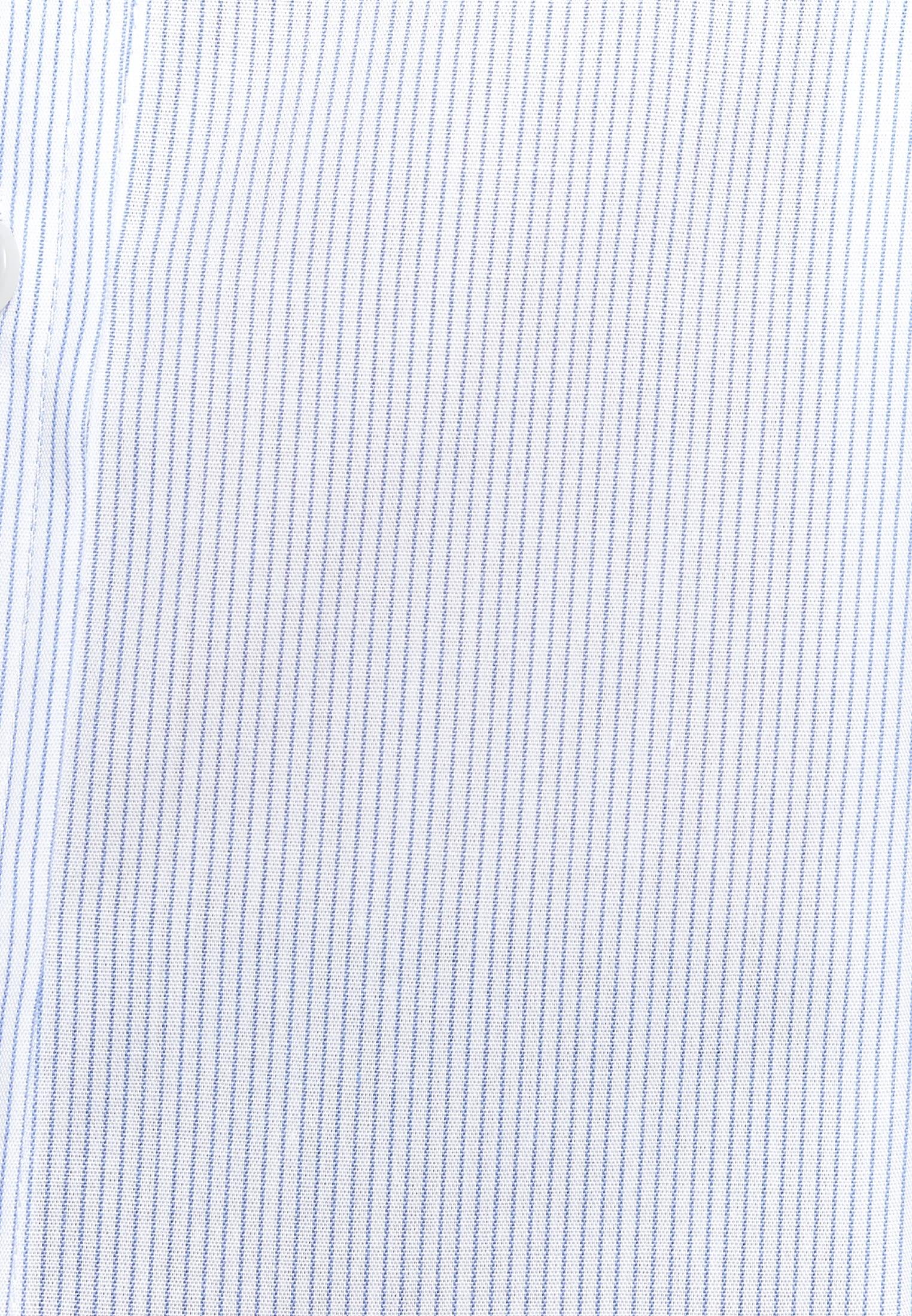 Bügelfreie Popeline Hemdbluse aus 100% Baumwolle in Hellblau |  Seidensticker Onlineshop