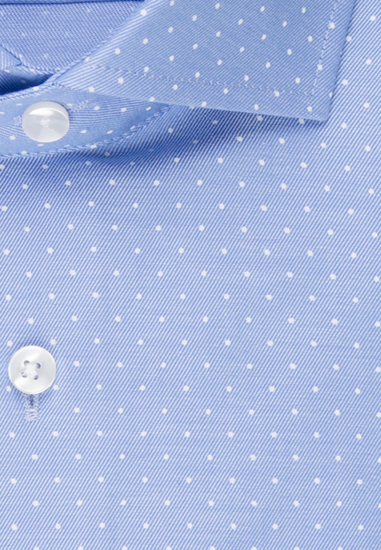 Bügelleichtes Struktur Business Hemd in Regular mit Kentkragen in Hellblau |  Seidensticker Onlineshop