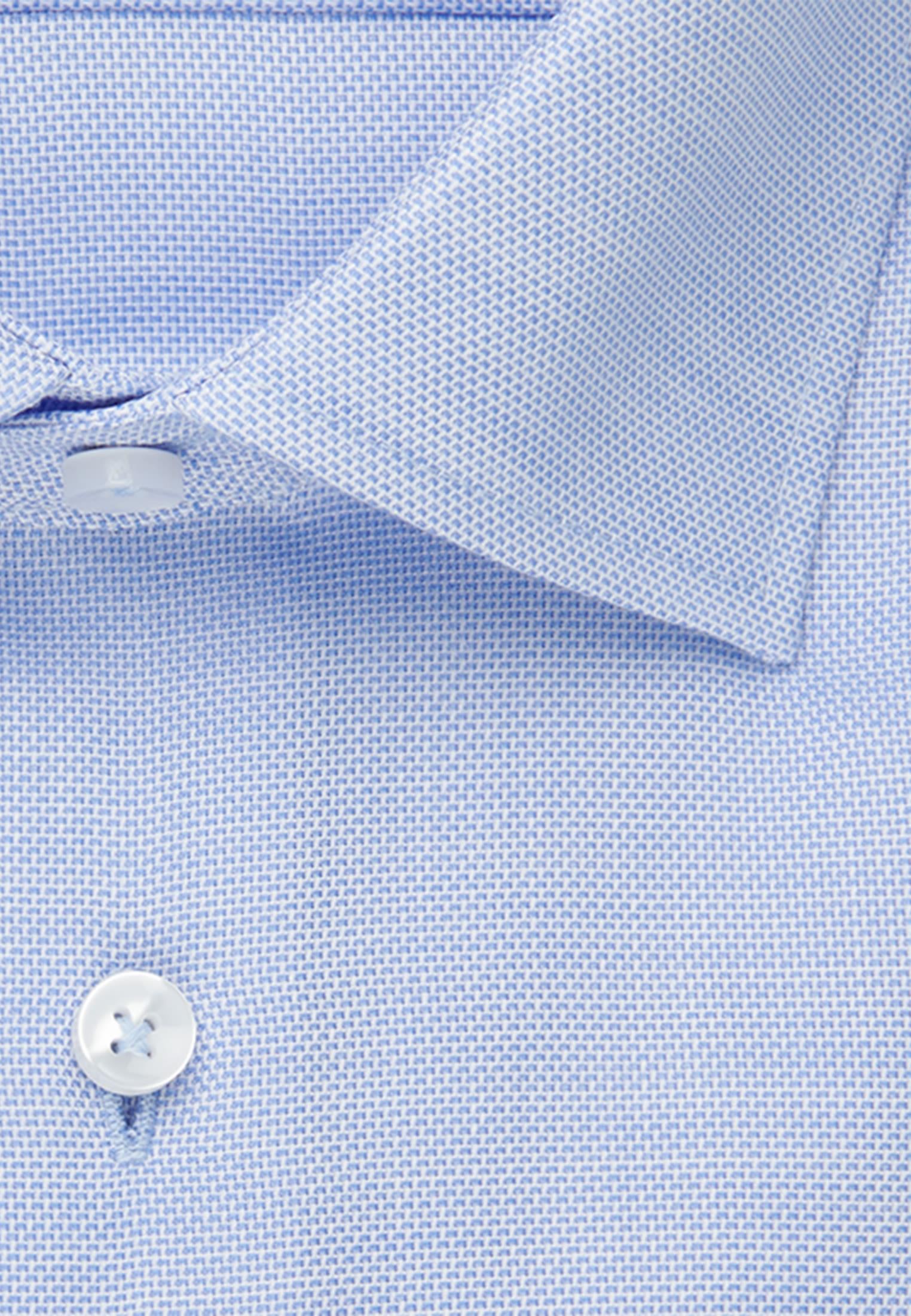 Bügelfreies Struktur Business Hemd in Comfort mit Kentkragen in Hellblau |  Seidensticker Onlineshop