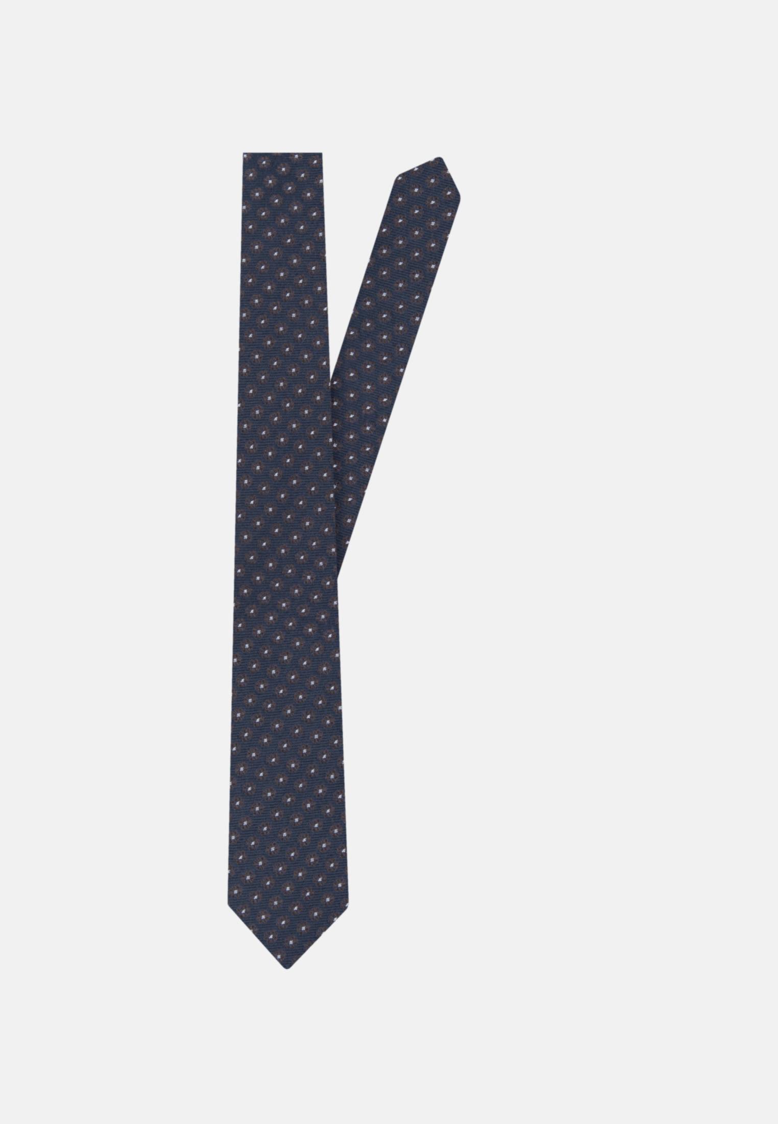 Tie made of 100% Silk 7 cm wide in Brown |  Seidensticker Onlineshop