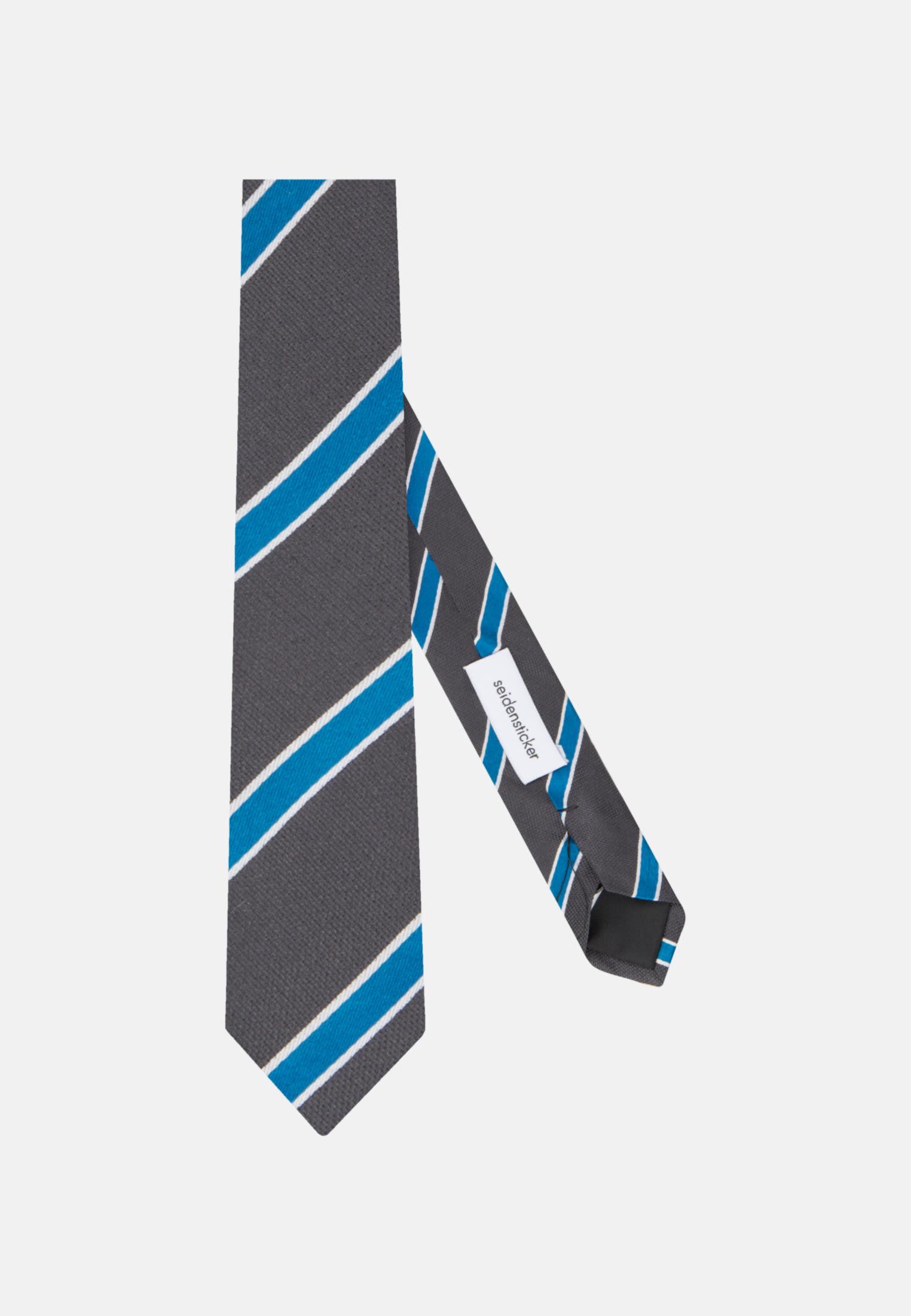 Krawatte aus 100% Seide 5 cm Breit in Türkis/Petrol |  Seidensticker Onlineshop