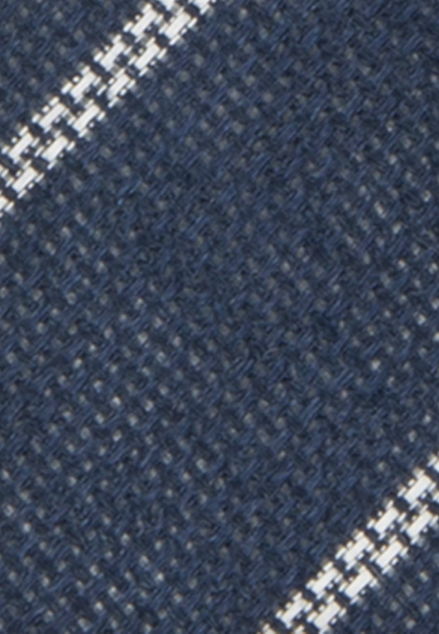 Tie made of 100% Linen 7 cm wide in Dark blue |  Seidensticker Onlineshop