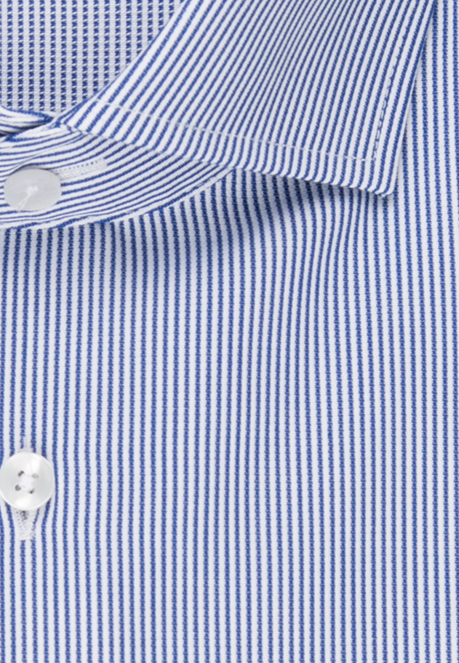 Easy-iron Cotele Business Shirt in Shaped with Kent-Collar in Medium blue |  Seidensticker Onlineshop