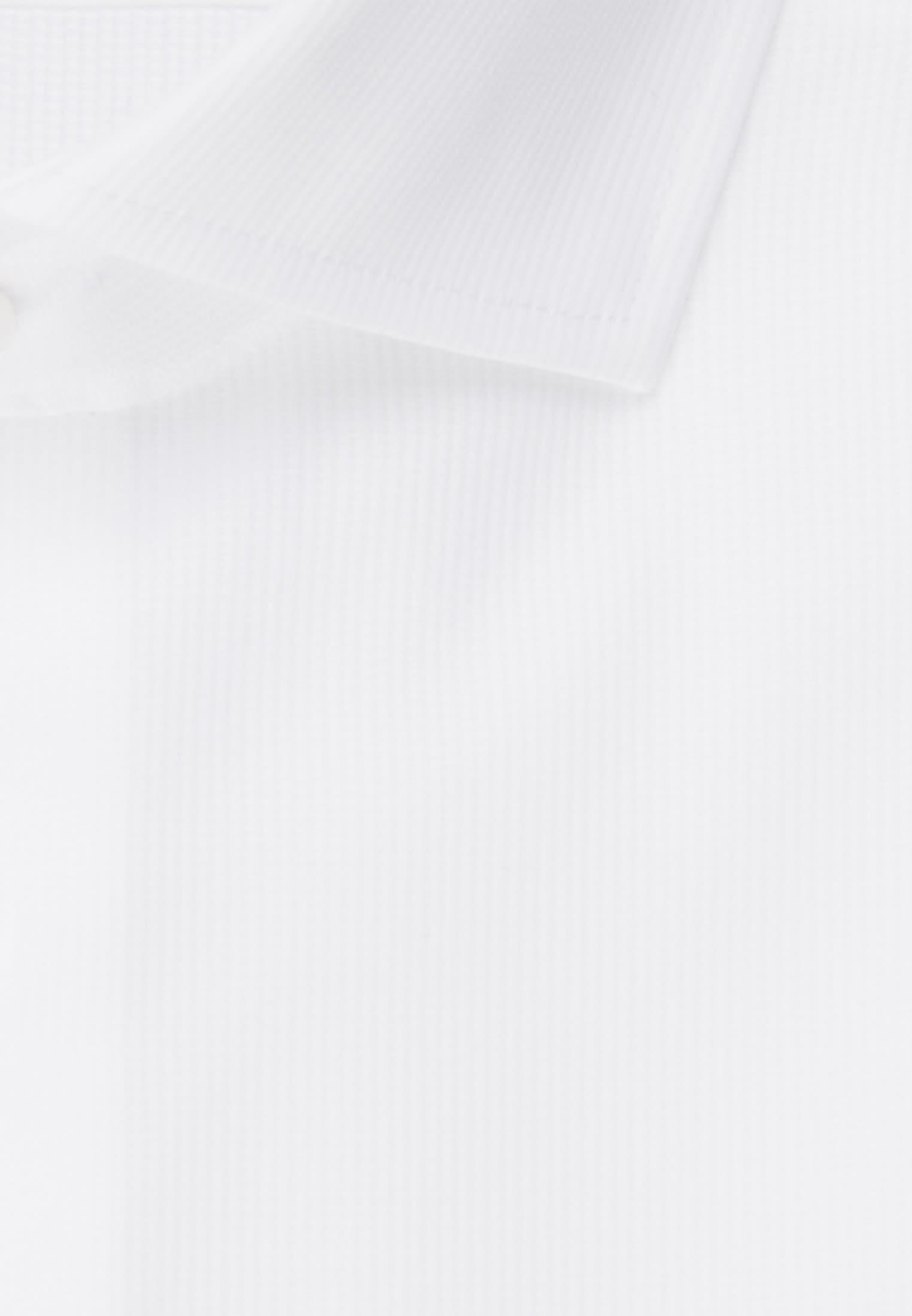 Bügelleichtes Cotele Business Hemd in Shaped mit Kentkragen in Weiß |  Seidensticker Onlineshop