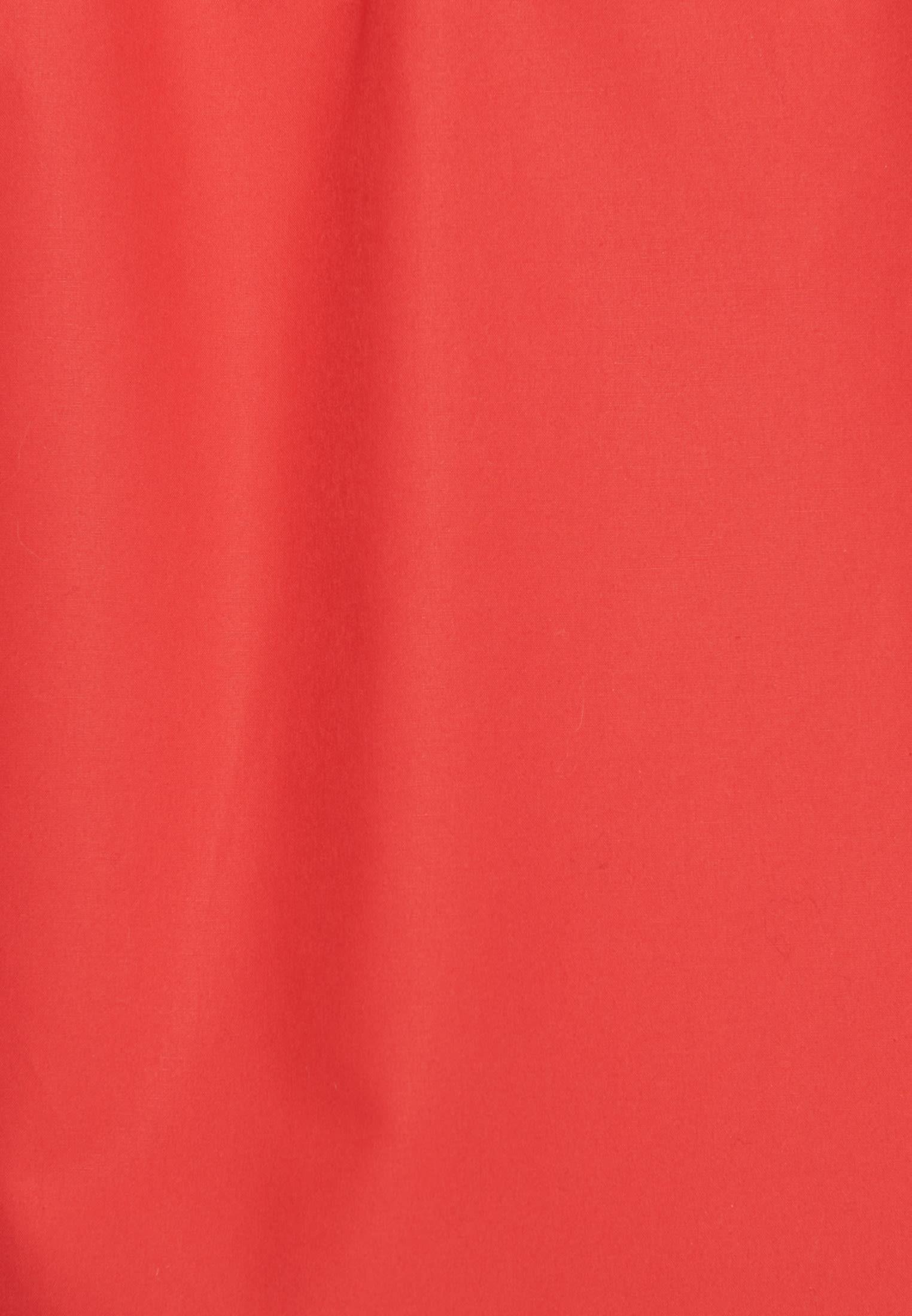 Short sleeve Poplin Shirt Blouse made of 100% Cotton in Red |  Seidensticker Onlineshop