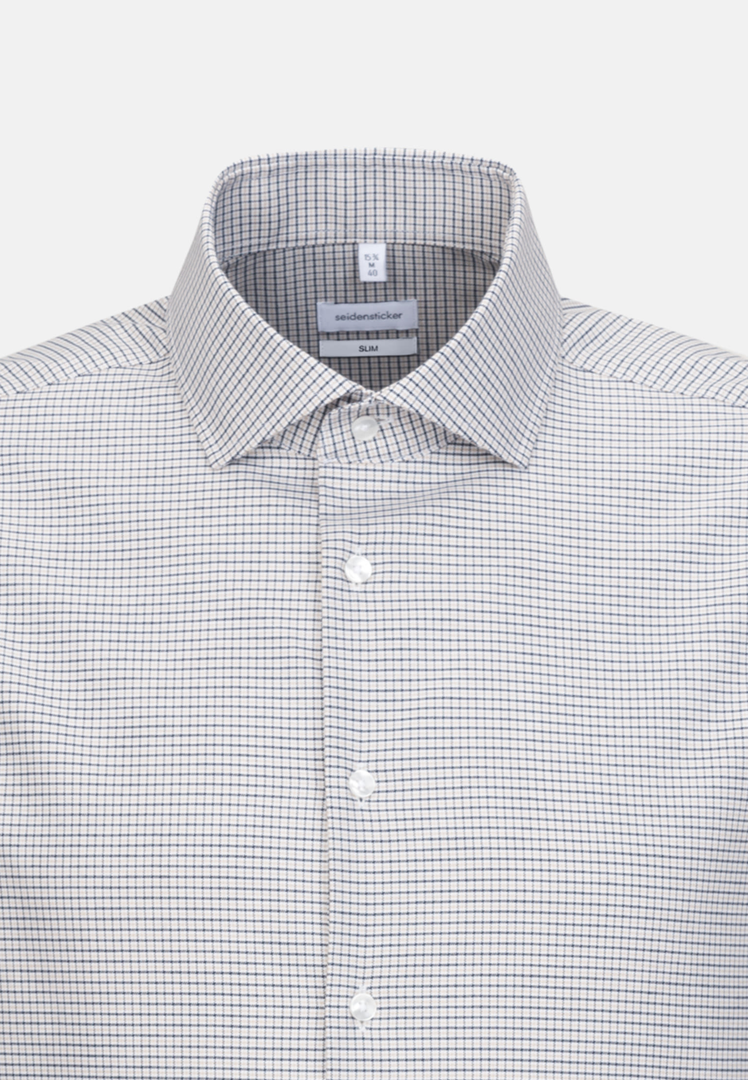 Easy-iron Oxford Business Shirt in Slim with Kent-Collar in Brown |  Seidensticker Onlineshop