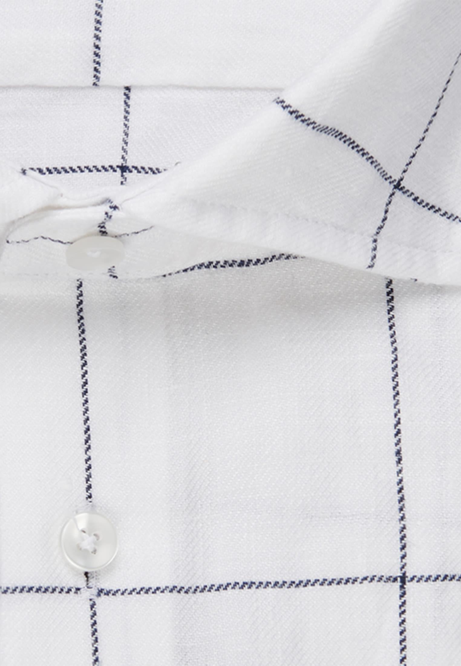 Bügelleichtes Leinen Business Hemd in Slim mit Kentkragen in Weiß |  Seidensticker Onlineshop