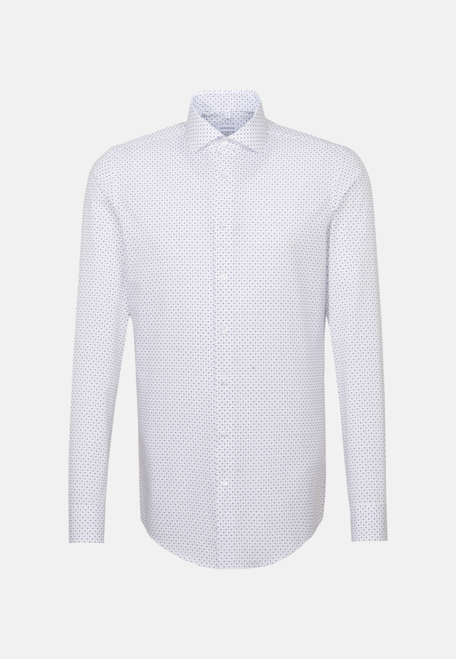 Easy-iron Poplin Business Shirt in Slim with Kent-Collar and extra long sleeve in White |  Seidensticker Onlineshop