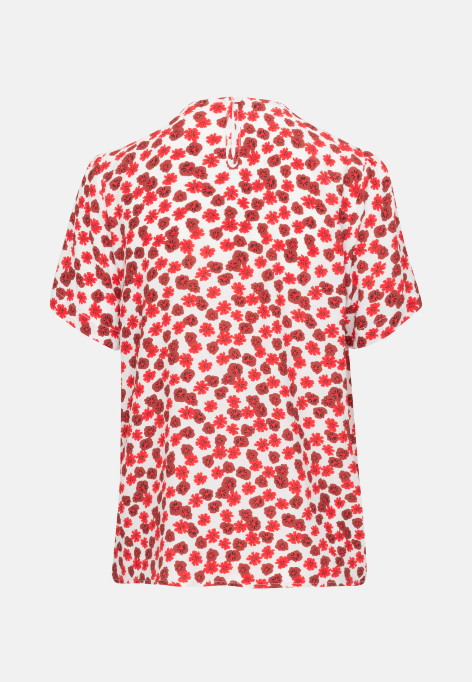Short sleeve Crepe Shirt Blouse made of 100% Viscose in Pink |  Seidensticker Onlineshop