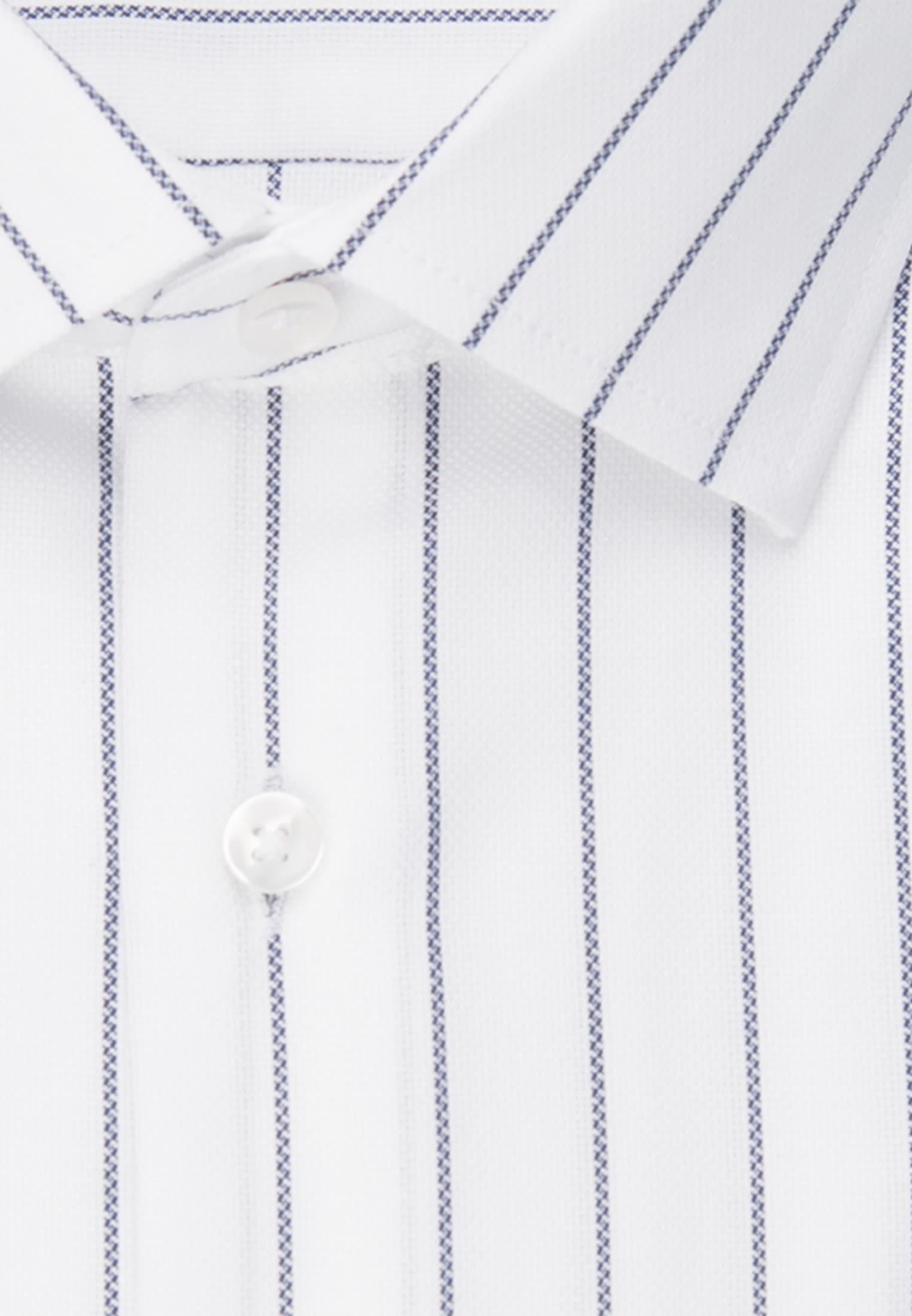 Bügelleichtes Struktur Business Hemd in Regular mit Kentkragen in Weiß |  Seidensticker Onlineshop