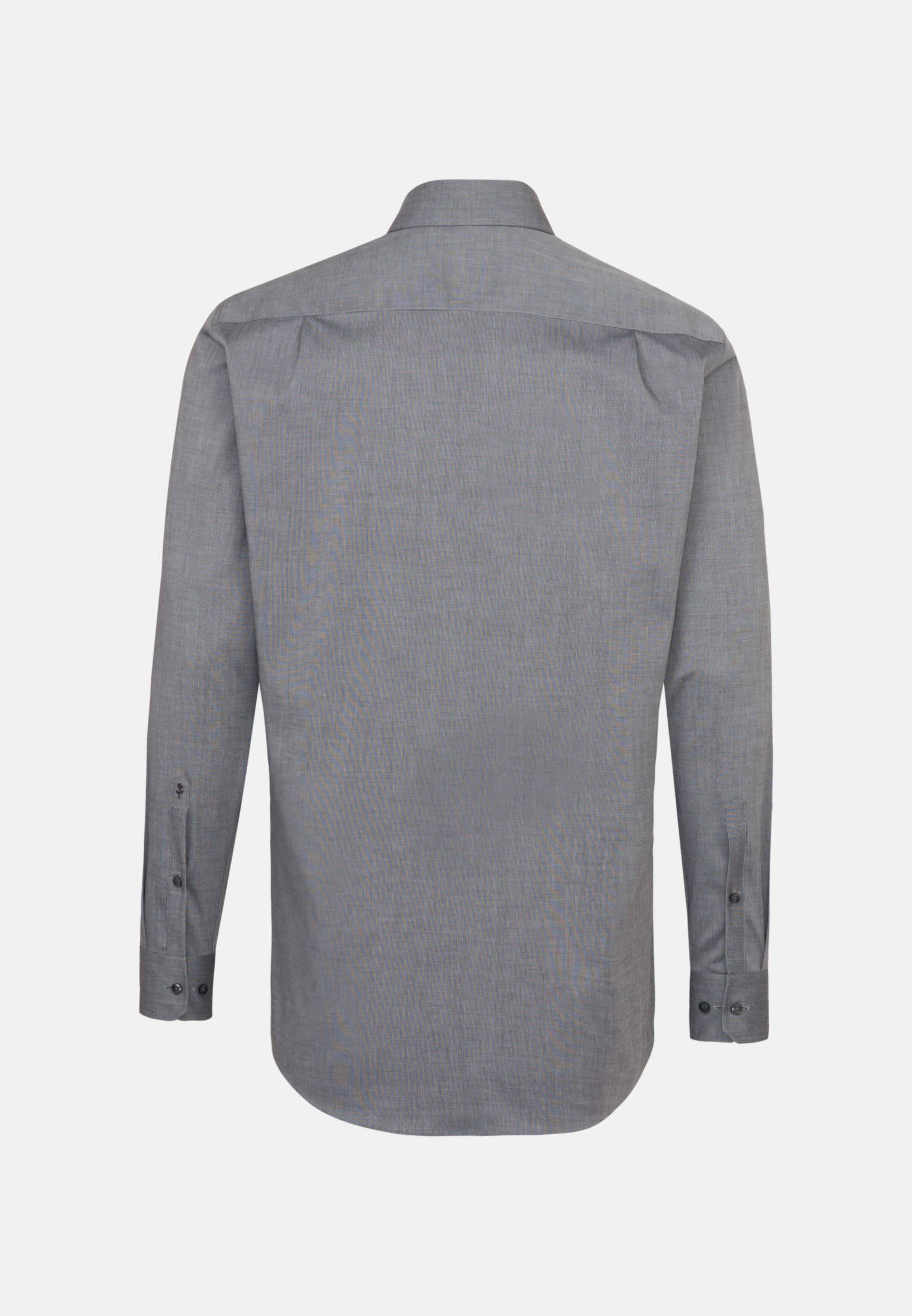 Bügelfreies Fil a fil Business Hemd in Regular mit Kentkragen in Dunkelgrau    Seidensticker Onlineshop