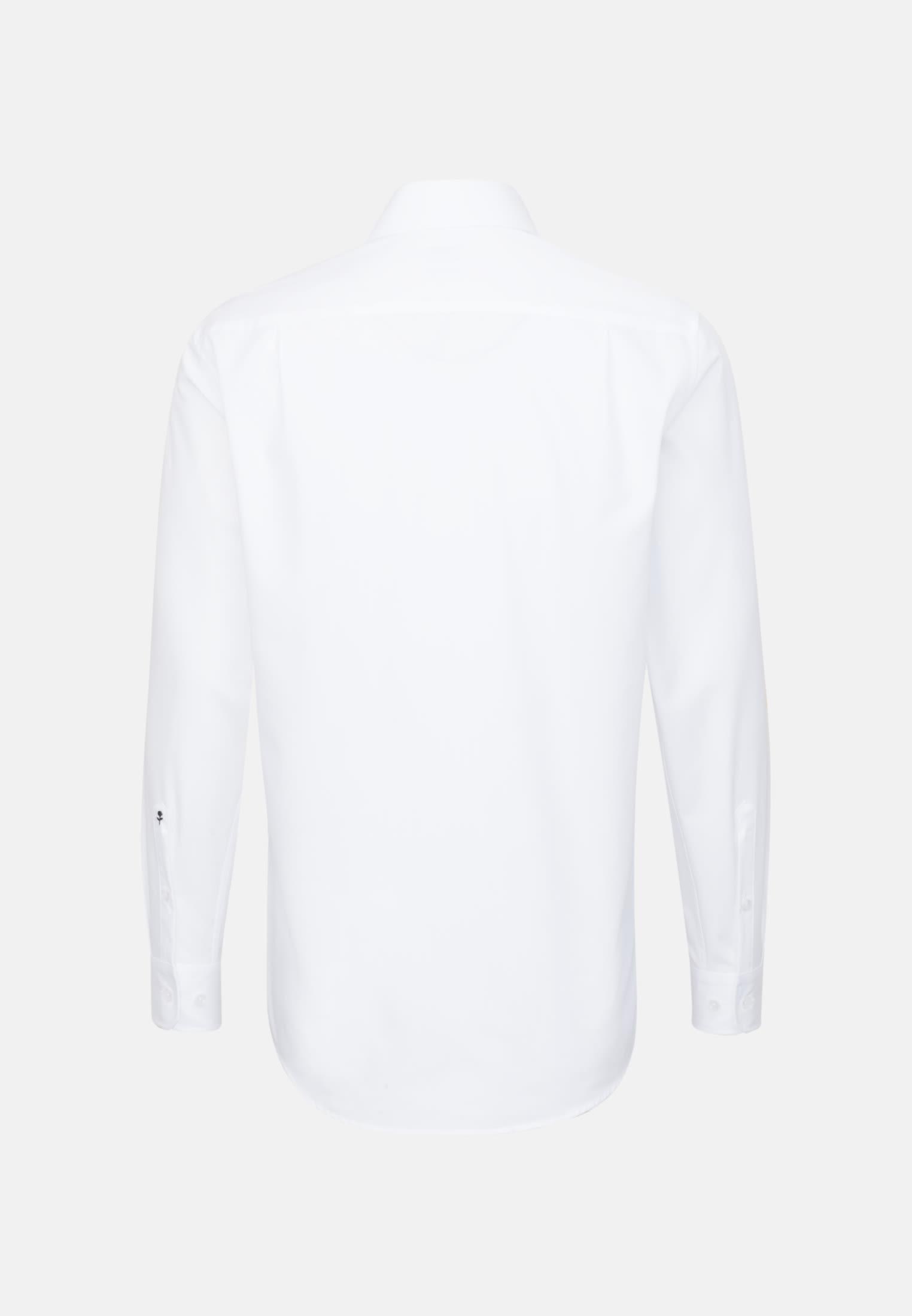 Non-iron Fil a fil Business Shirt in Regular with Kent-Collar in White |  Seidensticker Onlineshop