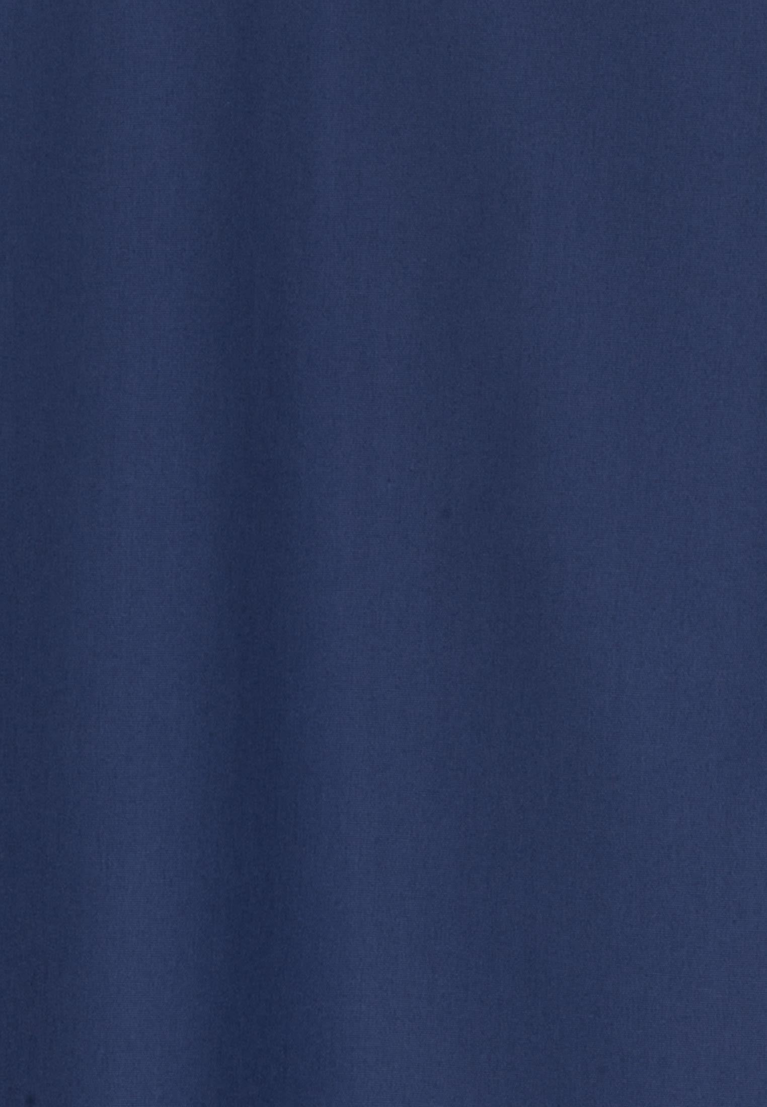 Bügelfreie Fil a fil Hemdbluse aus 100% Baumwolle in Dunkelblau |  Seidensticker Onlineshop