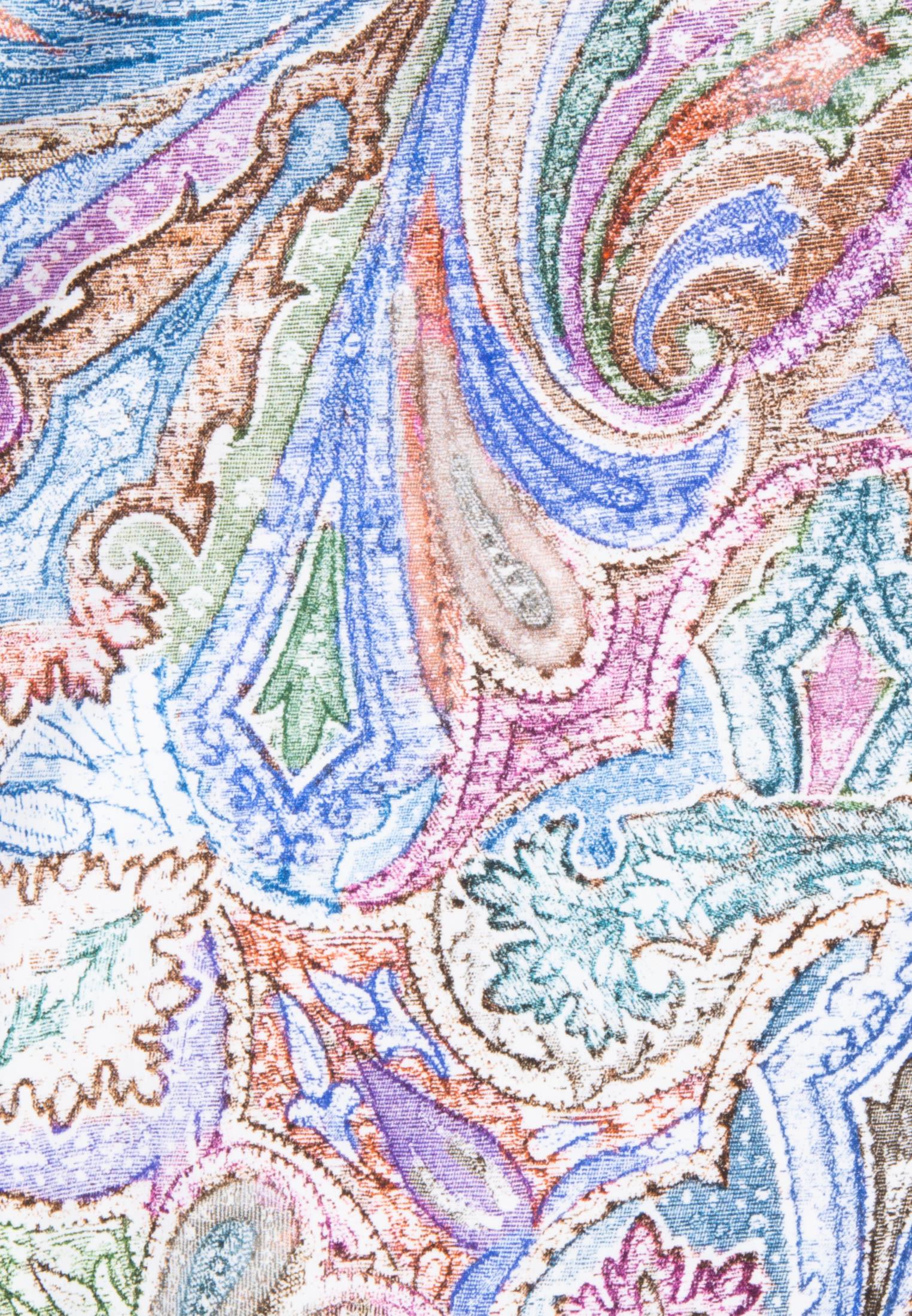Struktur Hemdbluse aus 100% Baumwolle in Braun |  Seidensticker Onlineshop