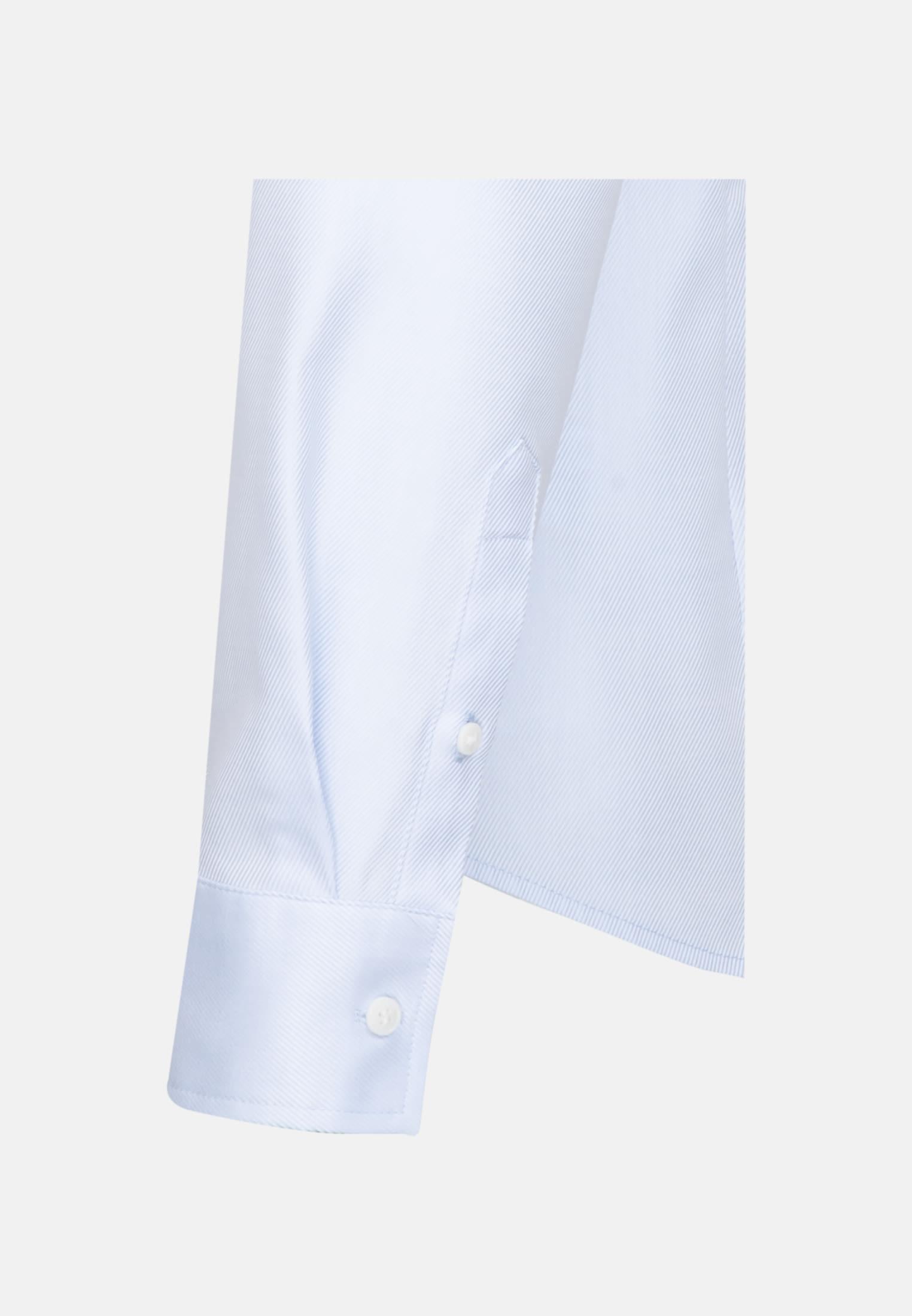 Twill Hemdbluse aus 100% Baumwolle in Hellblau    Seidensticker Onlineshop