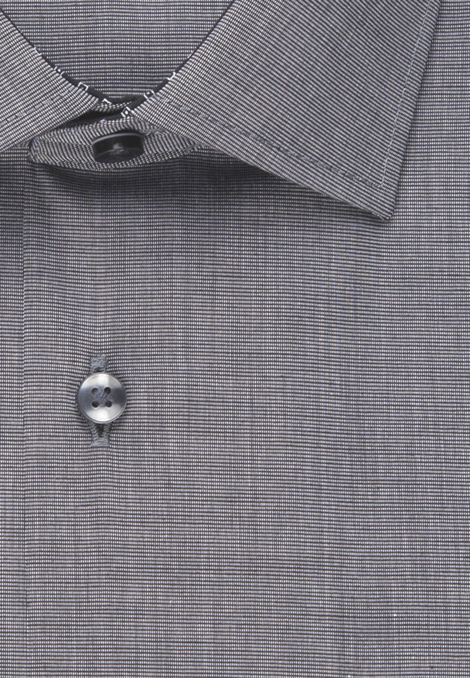Non-iron Fil a fil Business Shirt in Regular with Kent-Collar in Grey |  Seidensticker Onlineshop
