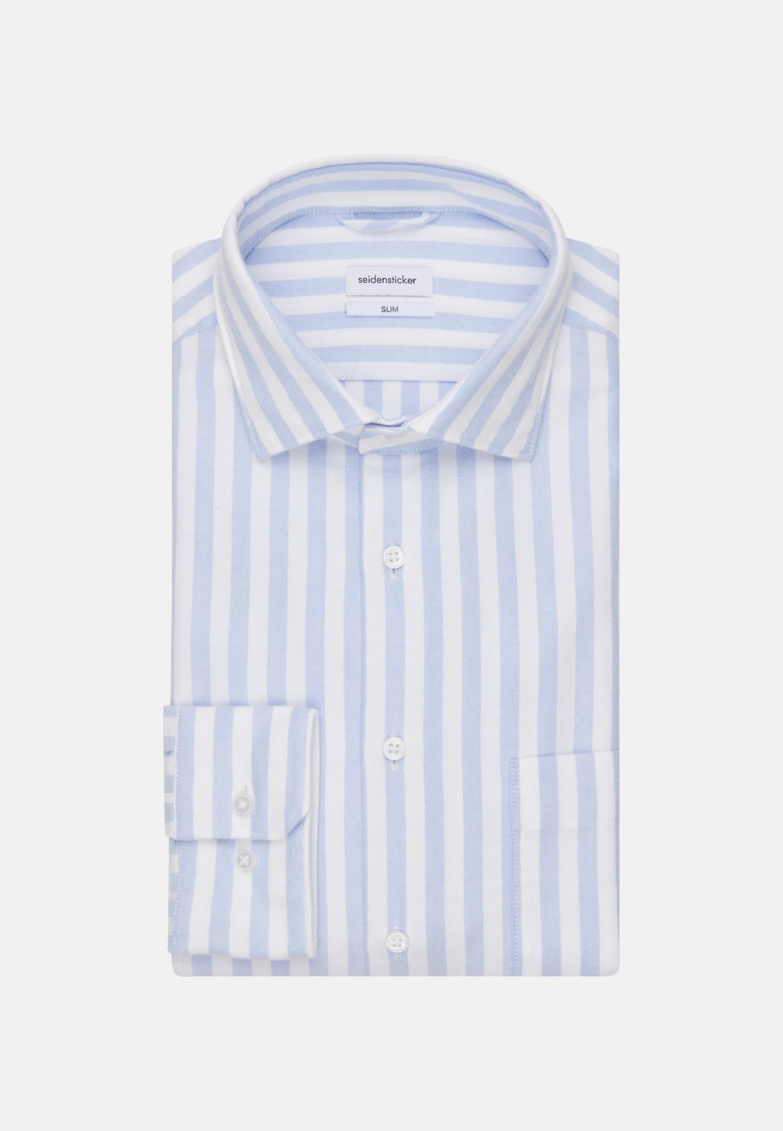 Oxford Business Shirt in Slim with Kent-Collar in Light blue |  Seidensticker Onlineshop