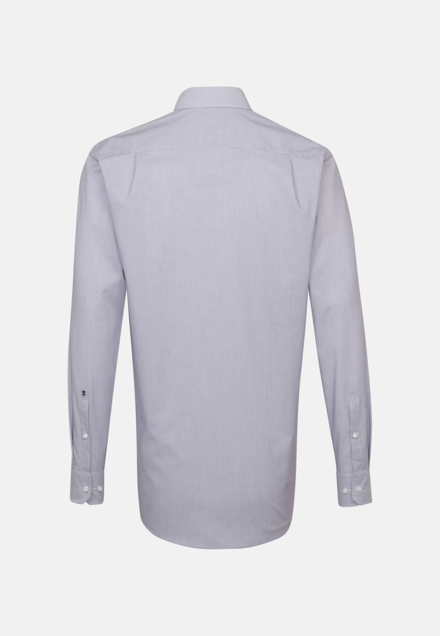 Non-iron Poplin Business Shirt in Regular with Kent-Collar and extra long sleeve in Purple |  Seidensticker Onlineshop
