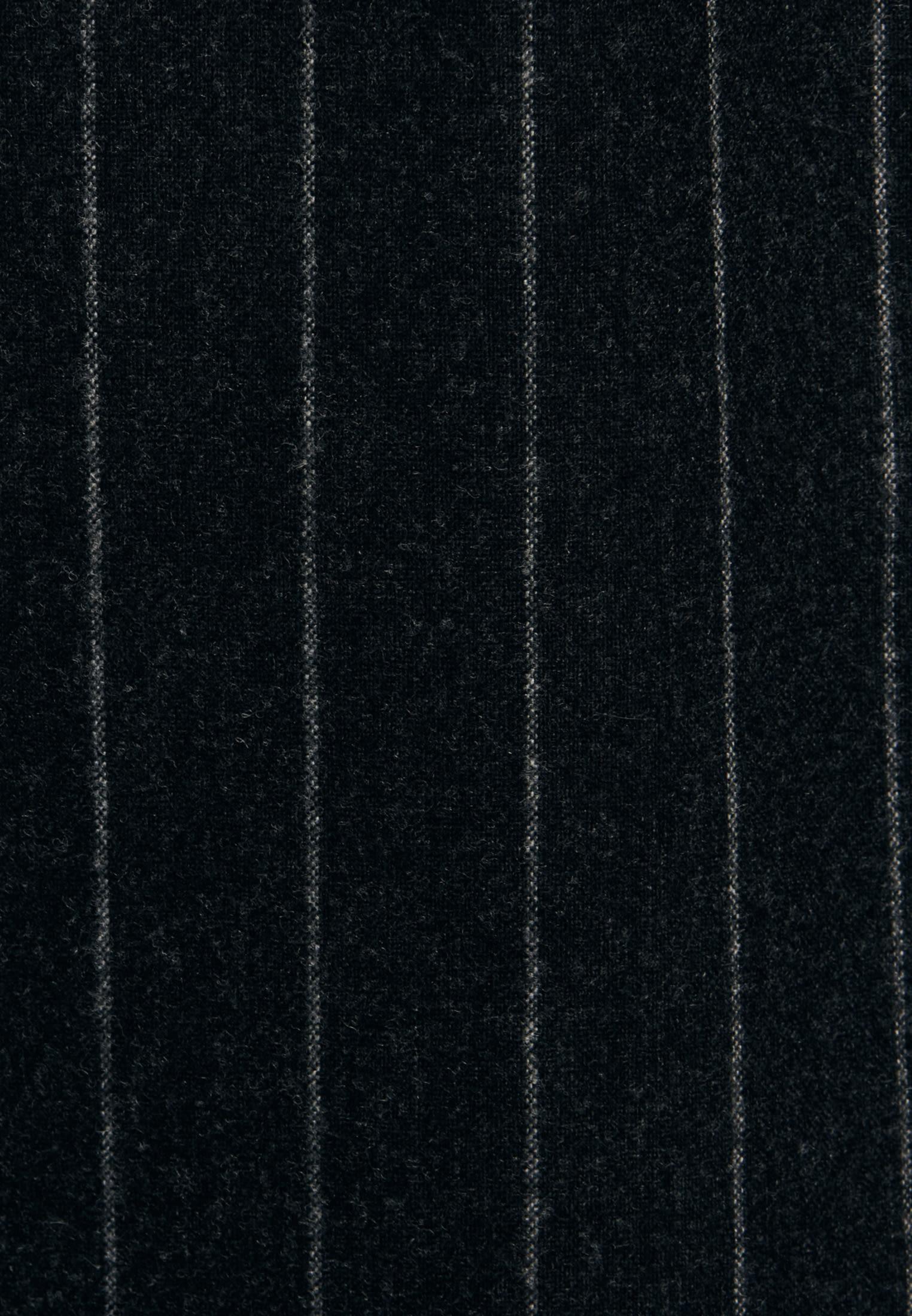 Flannel Maxi Dress made of wool blend in Grey |  Seidensticker Onlineshop