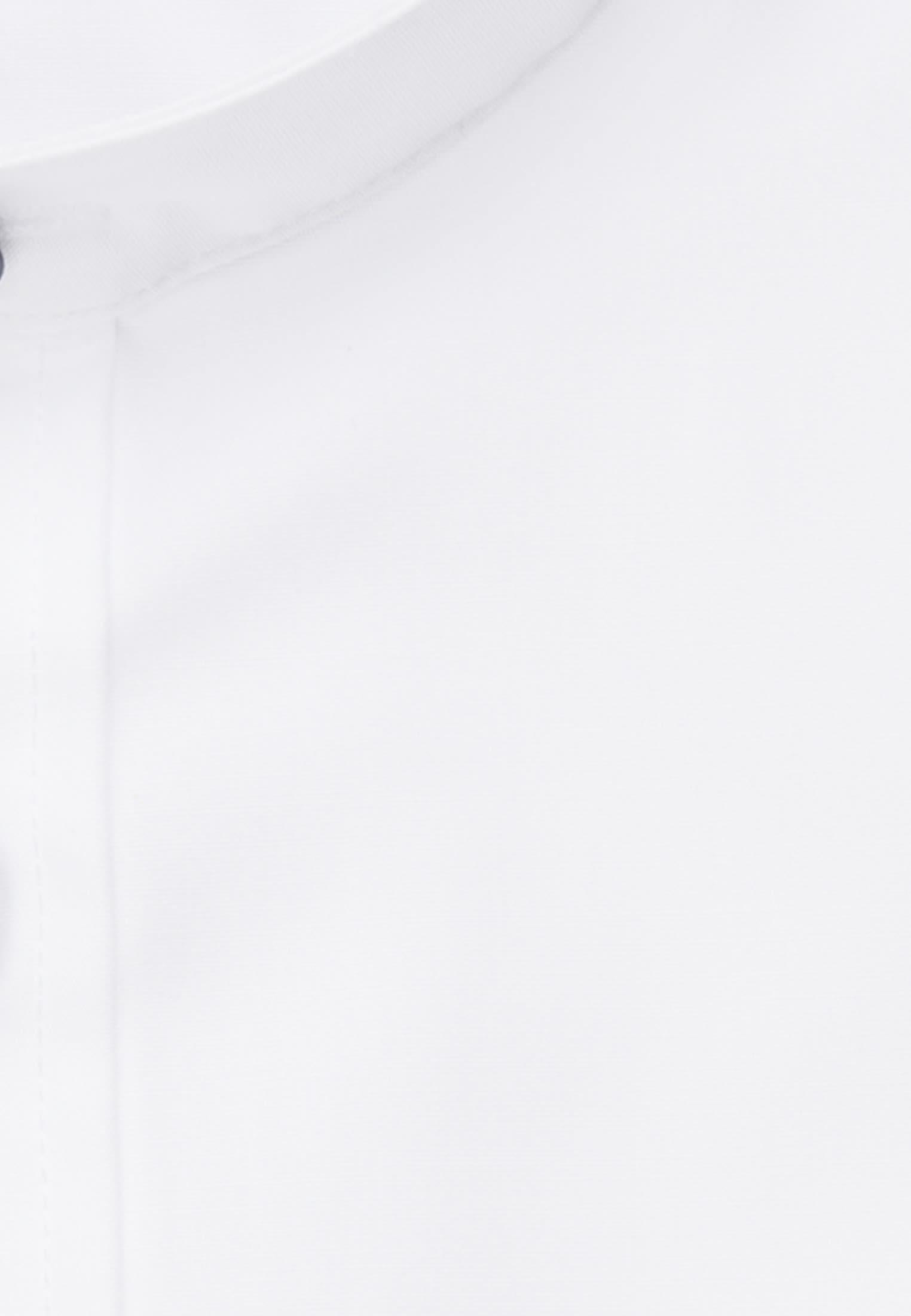 Bügelfreies Popeline Business Hemd in Regular mit Stehkragen in Weiß |  Seidensticker Onlineshop