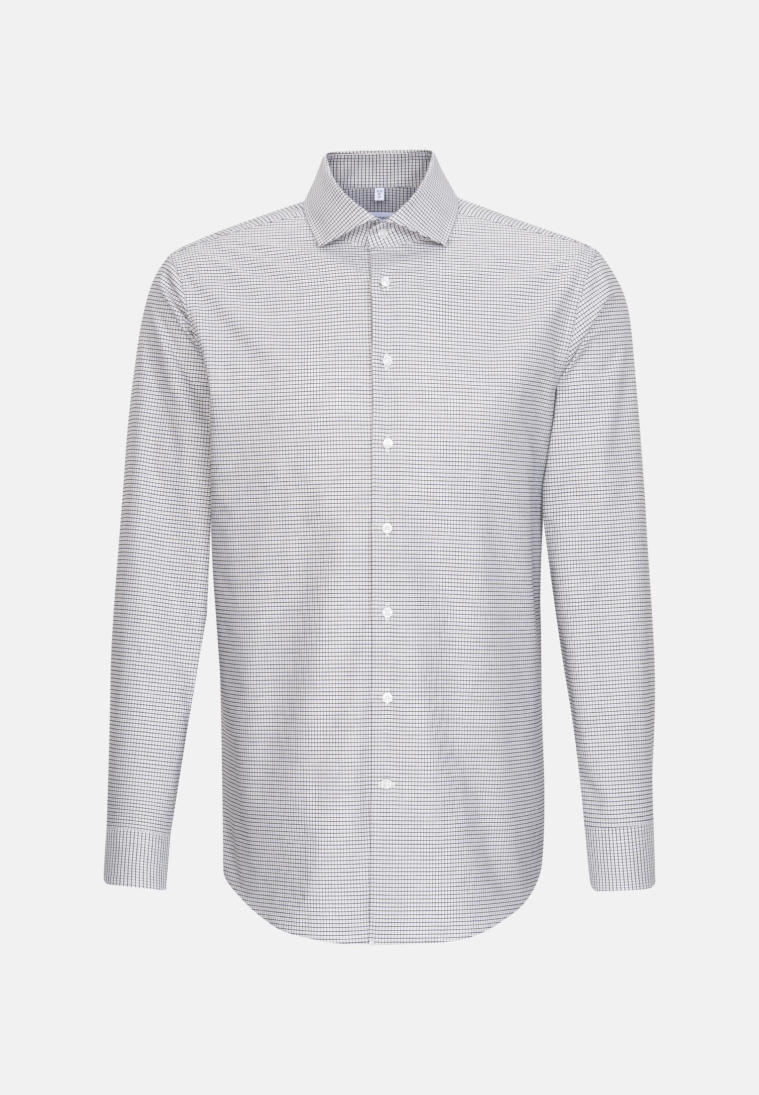 Easy-iron Oxford Business Shirt in Regular with Kent-Collar in Brown |  Seidensticker Onlineshop
