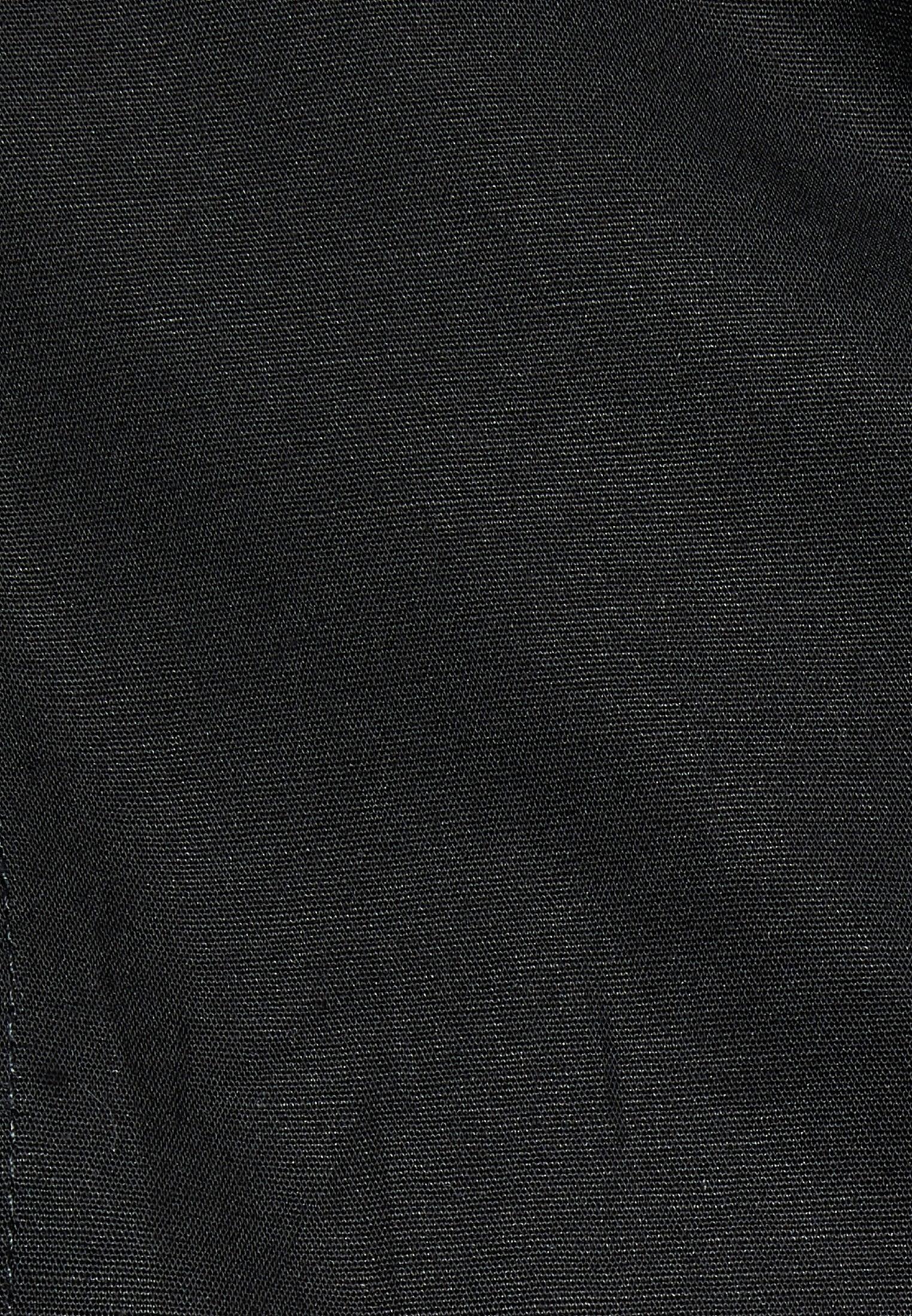 Poplin Body Blouse made of cotton blend in Black |  Seidensticker Onlineshop