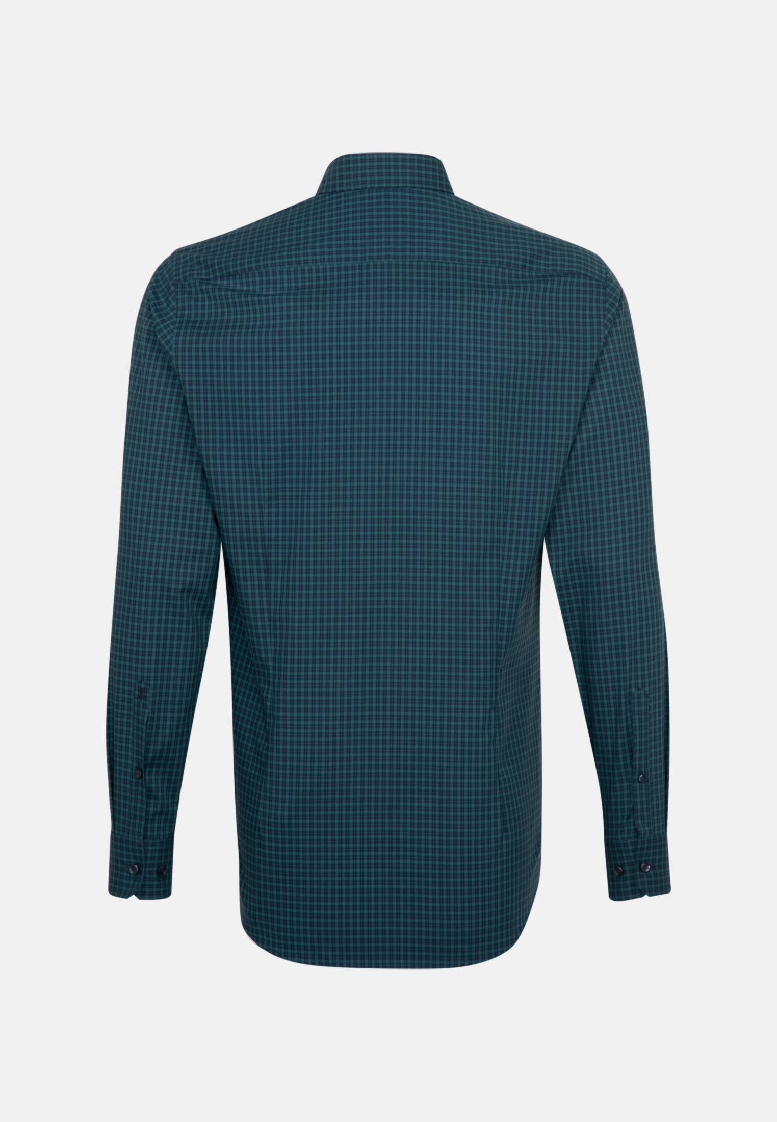 Non-iron Poplin Business Shirt in Slim with Button-Down-Collar in Green |  Seidensticker Onlineshop