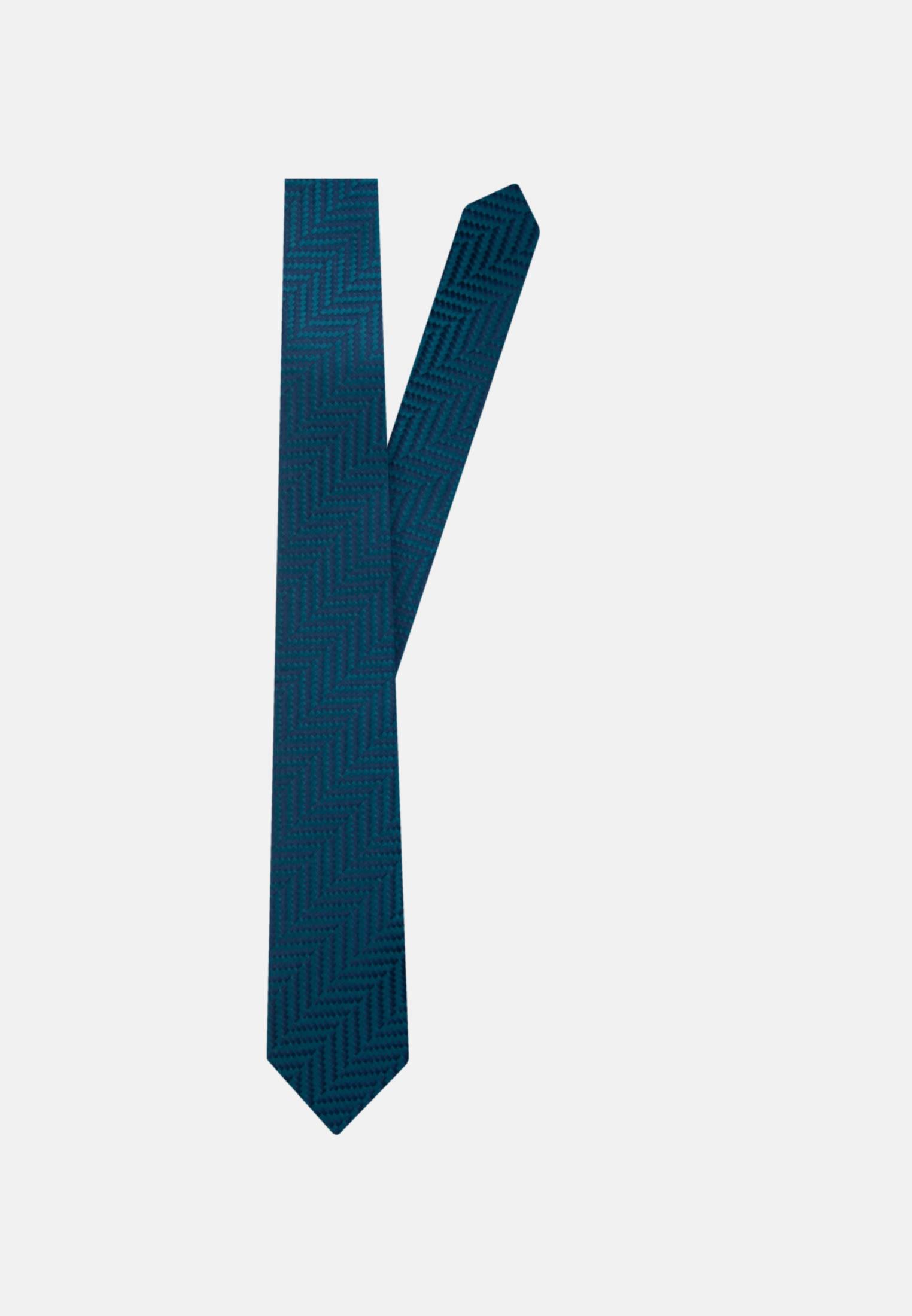 Tie made of 100% Silk 7 cm wide in Turquoise    Seidensticker Onlineshop