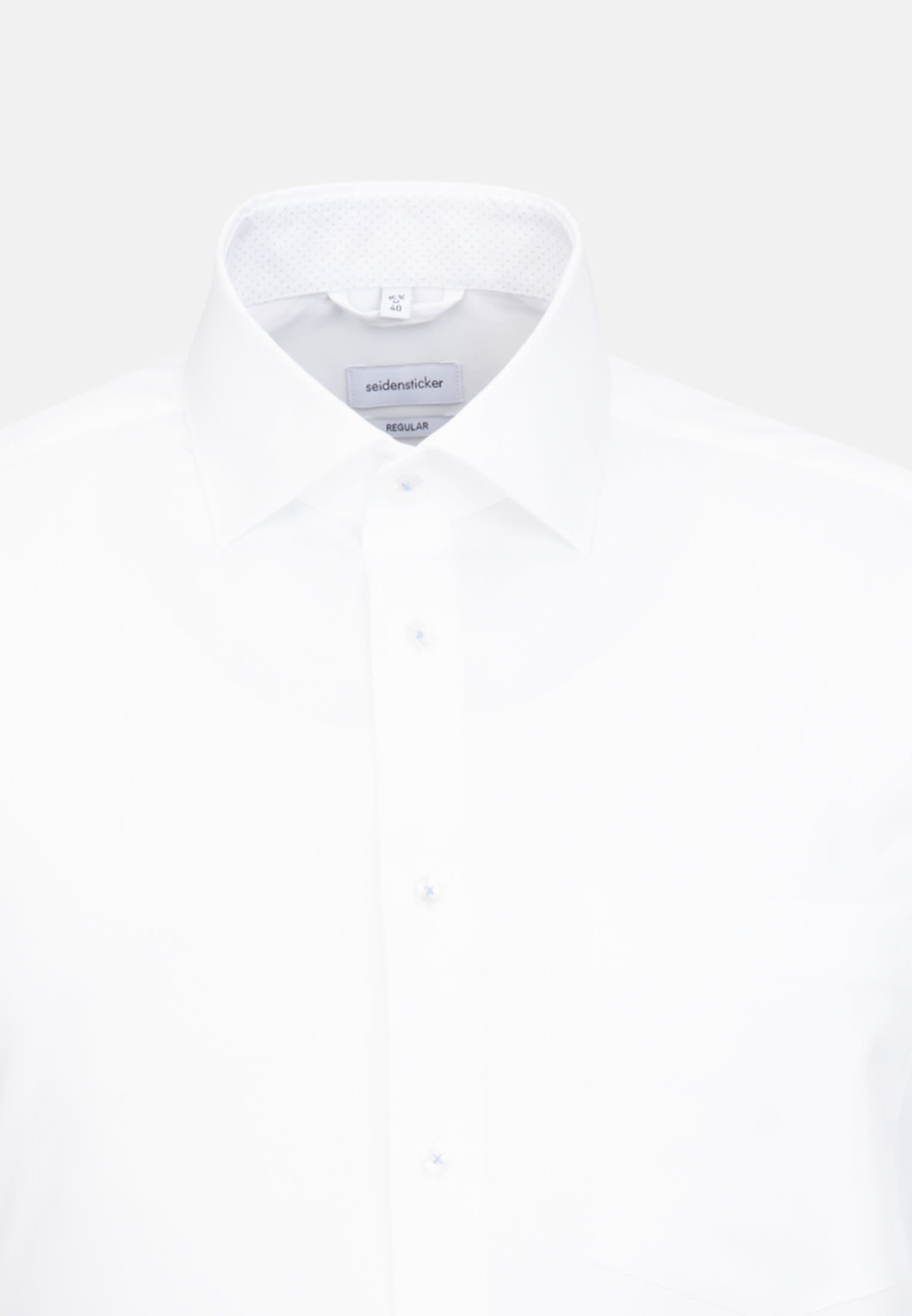 Non-iron Oxford Business Shirt in Regular with Kent-Collar in Weiß |  Seidensticker Onlineshop