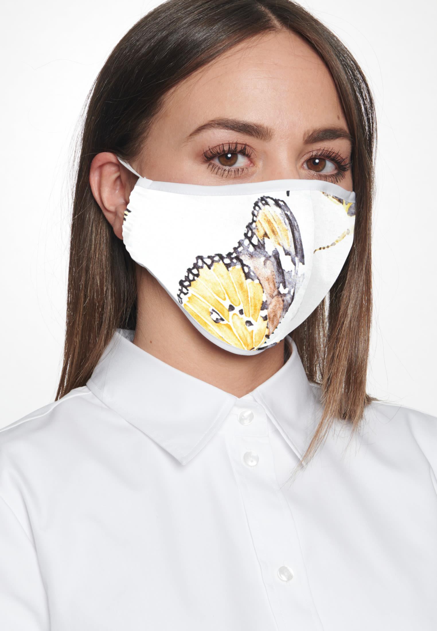 10er-Pack Mund-Nasen-Masken aus in Weiß |  Seidensticker Onlineshop