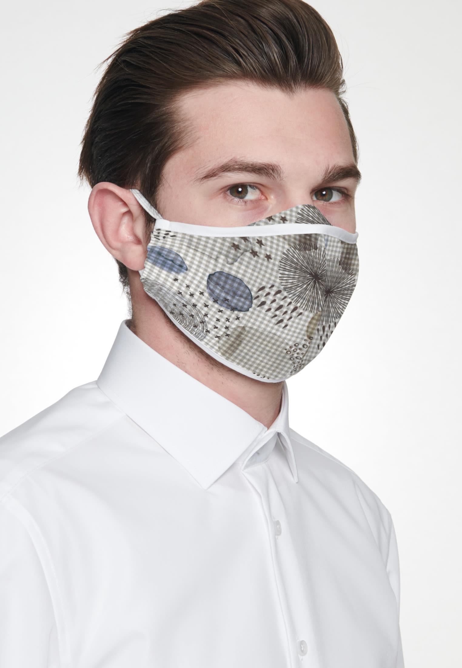 10er-Pack Mund-Nasen-Masken aus in Grau |  Seidensticker Onlineshop