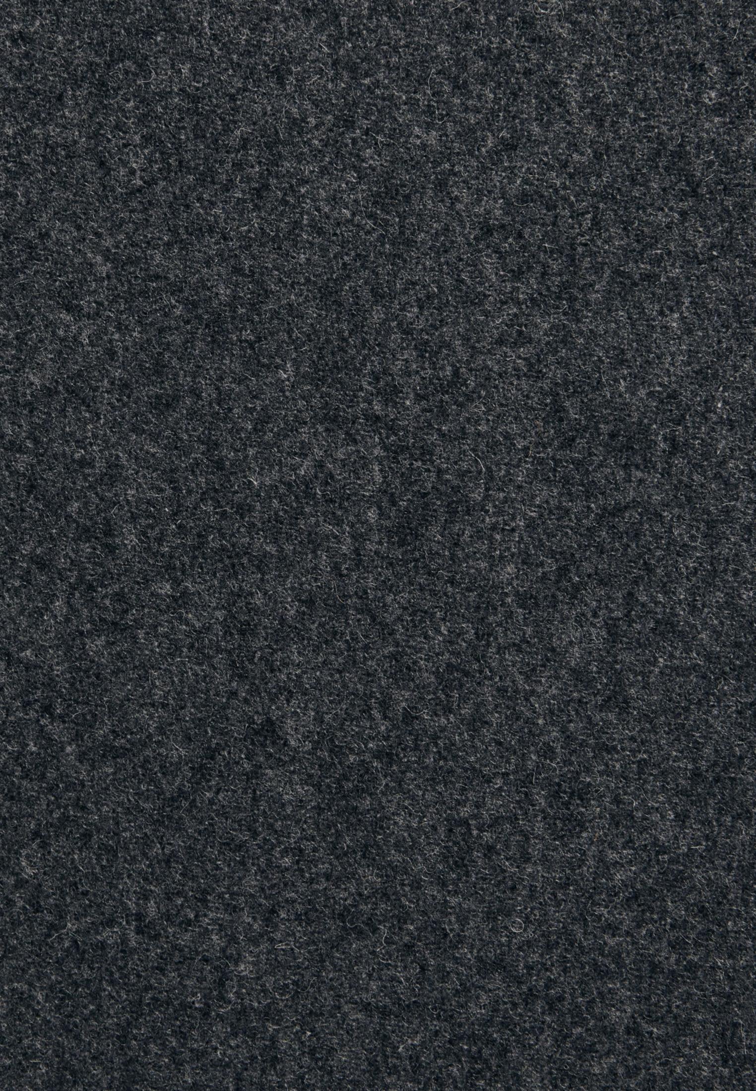 Flanell Midi Rock aus Wollmischung in Grau |  Seidensticker Onlineshop
