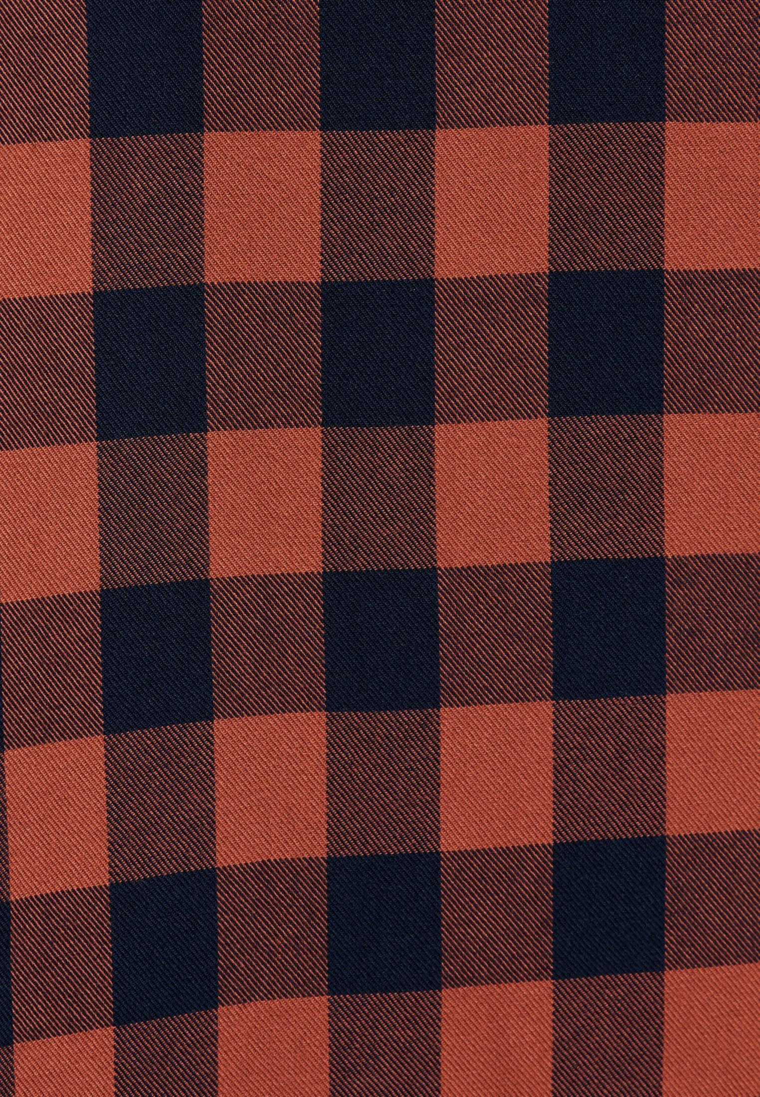 Twill Longbluse aus 100% Viskose in Orange |  Seidensticker Onlineshop