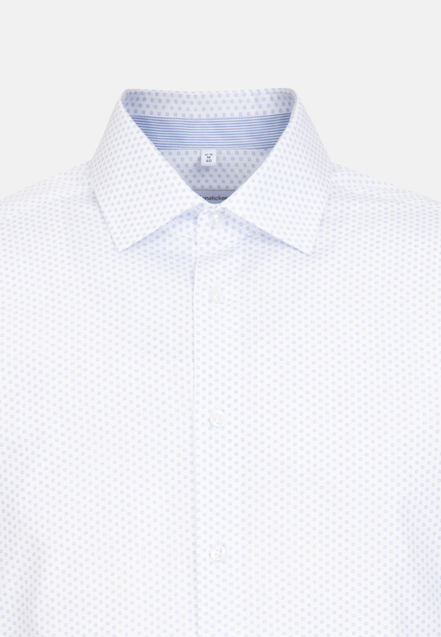 Easy-iron Poplin Business Shirt in Regular with Kent-Collar in Light blue |  Seidensticker Onlineshop