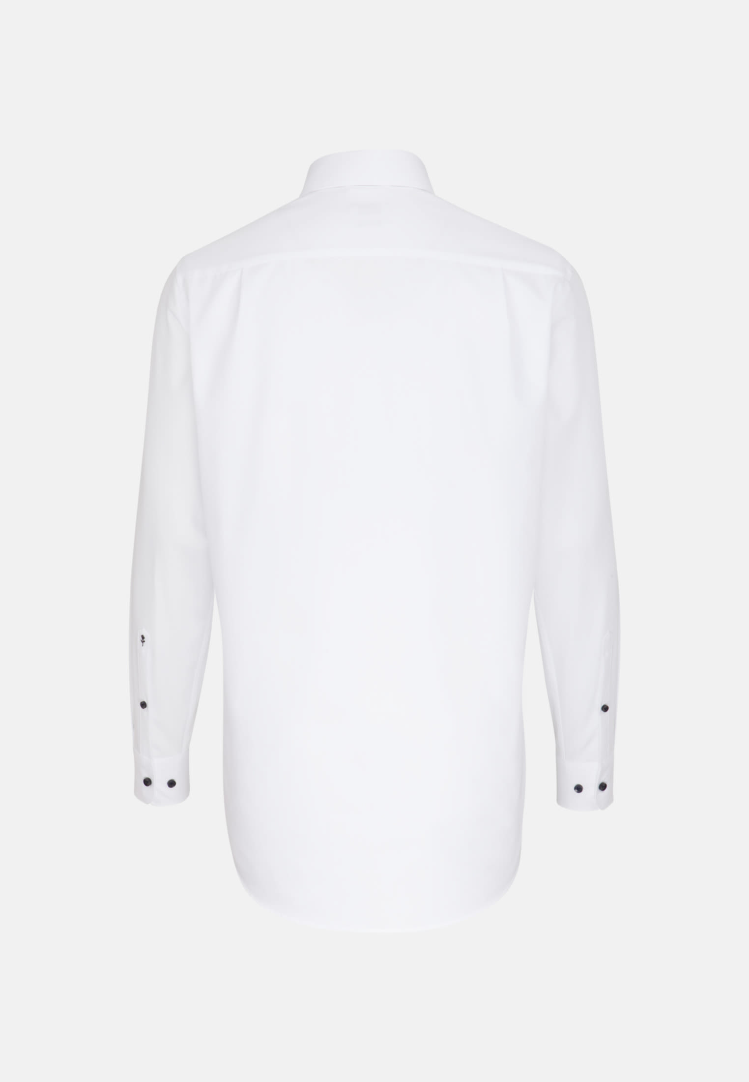 Non-iron Poplin Business Shirt in Regular with Kent-Collar and extra long sleeve in White |  Seidensticker Onlineshop