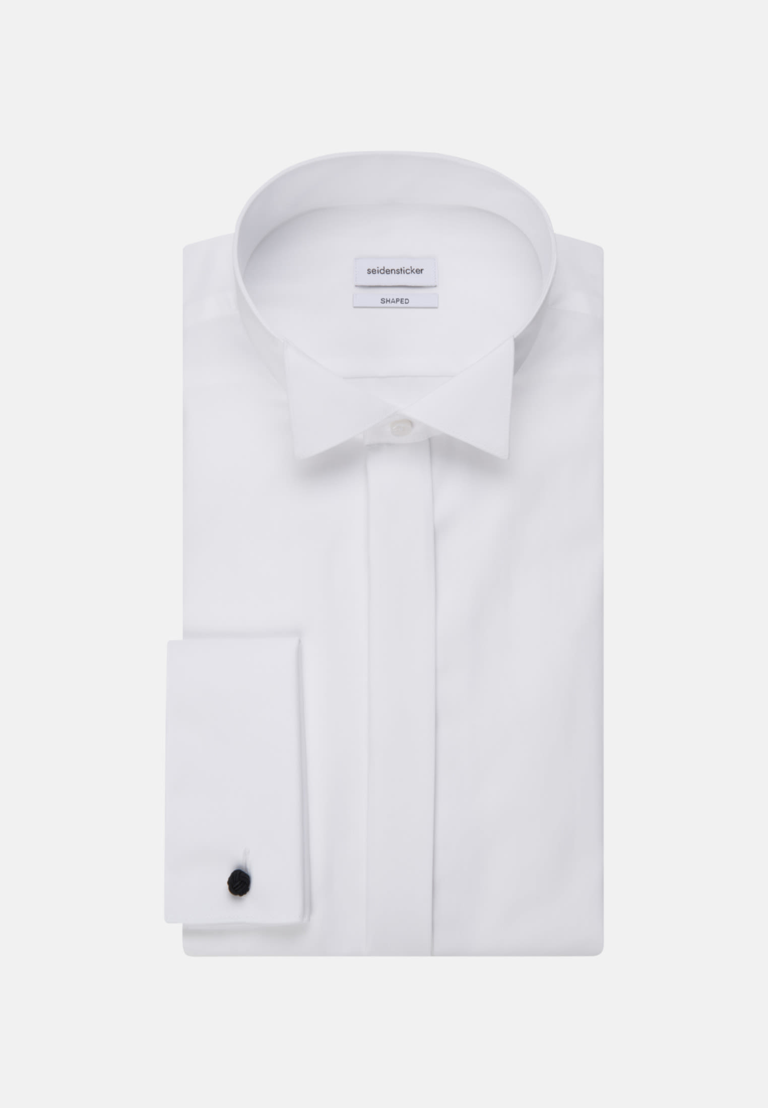 Non-iron Poplin Gala Shirt in Shaped with Wing Collar in White |  Seidensticker Onlineshop