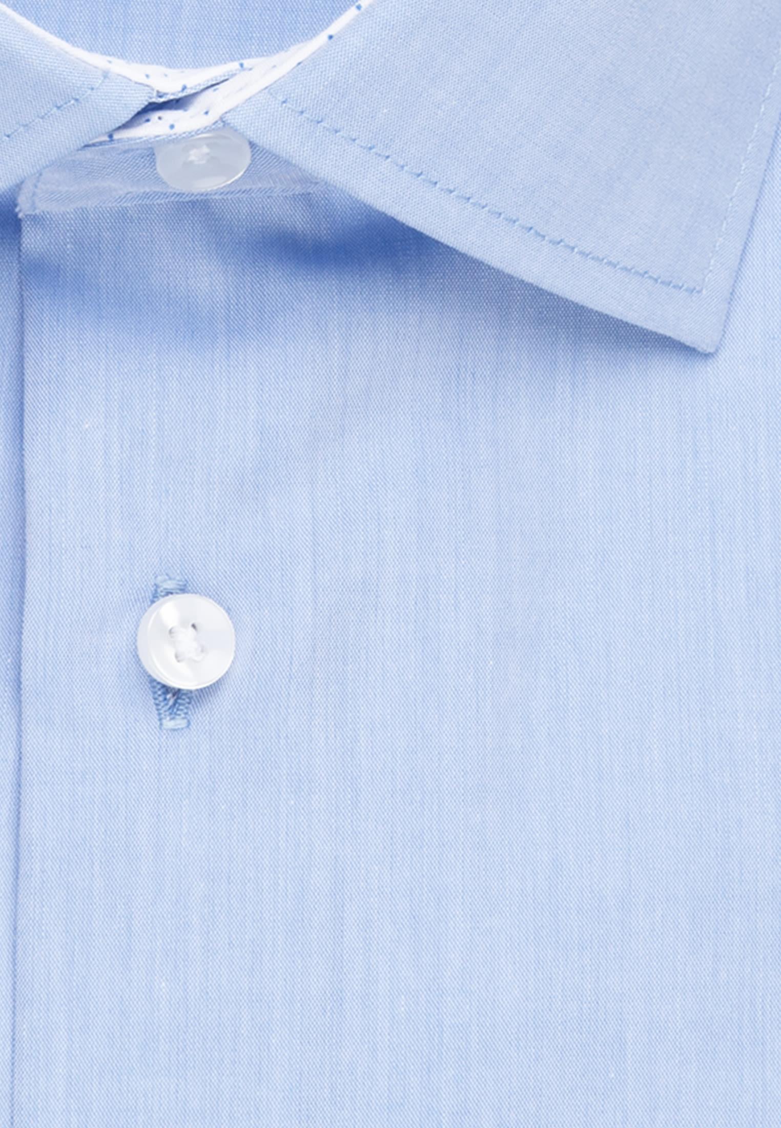 Bügelfreies Chambray Business Hemd in X-Slim mit Kentkragen in Hellblau |  Seidensticker Onlineshop