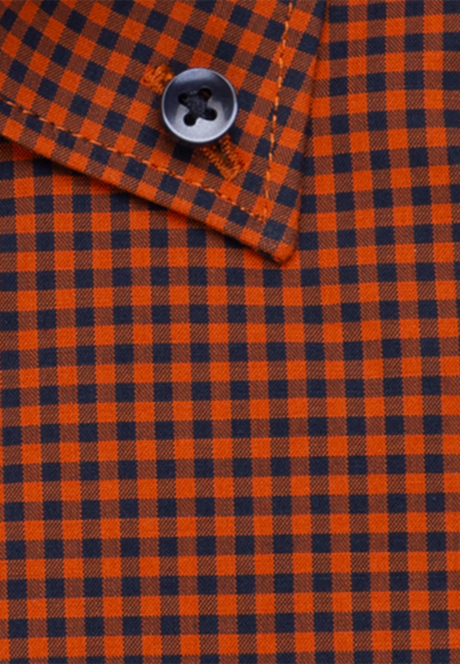 Bügelfreies Popeline Business Hemd in Regular mit Button-Down-Kragen in Orange    Seidensticker Onlineshop