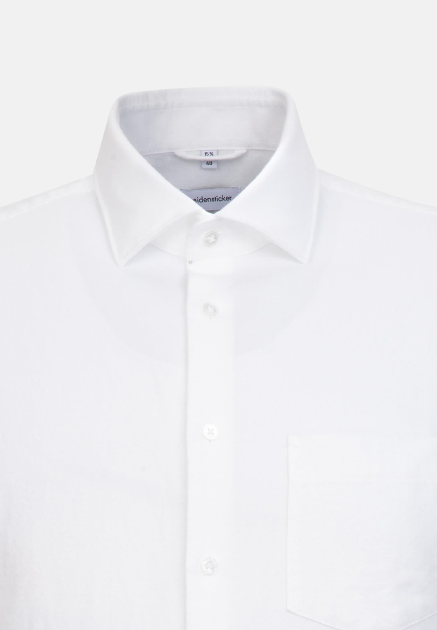 Oxford Business Shirt in Regular with Kent-Collar in White |  Seidensticker Onlineshop
