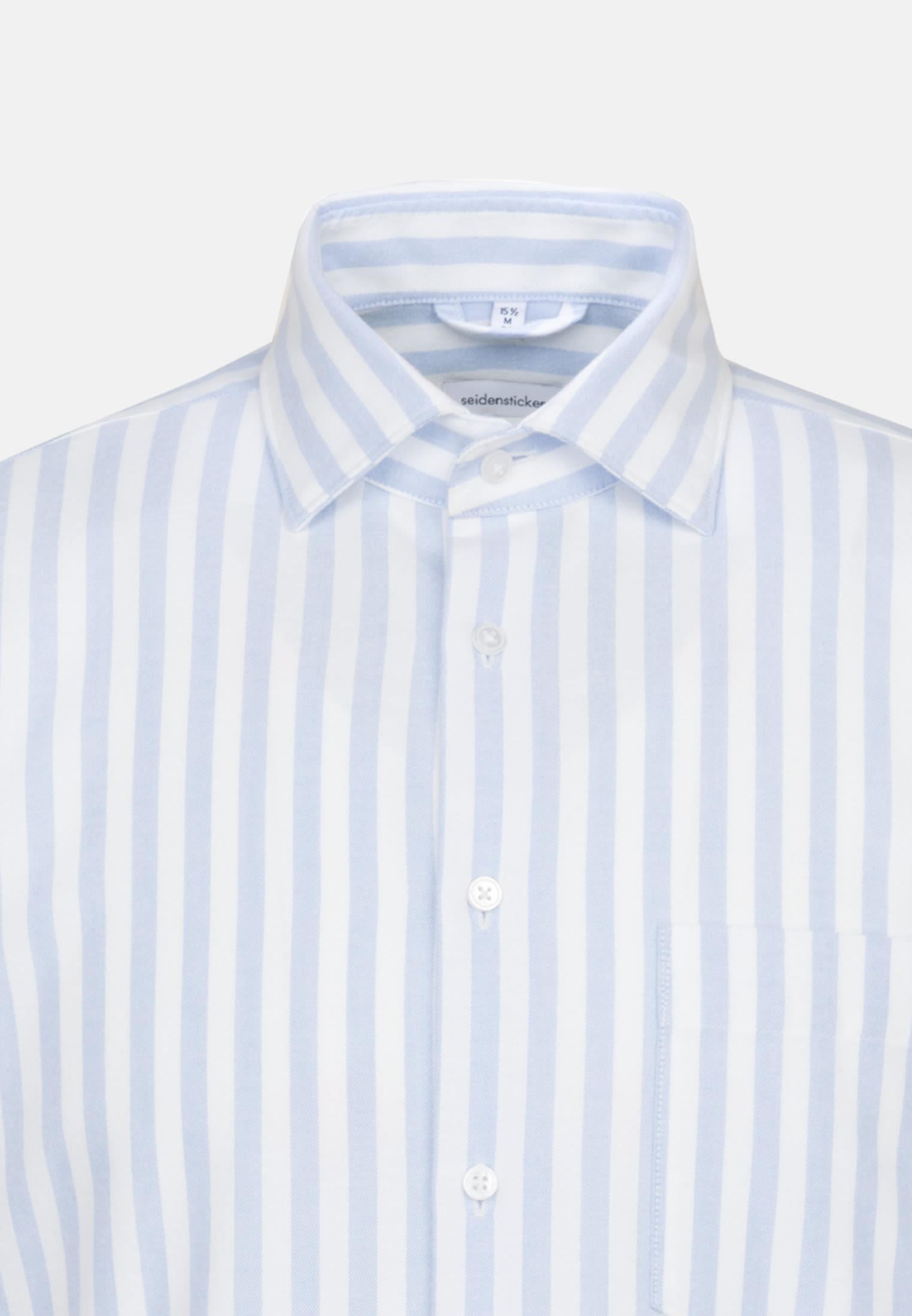Oxford Business Shirt in Regular with Kent-Collar in Light blue |  Seidensticker Onlineshop