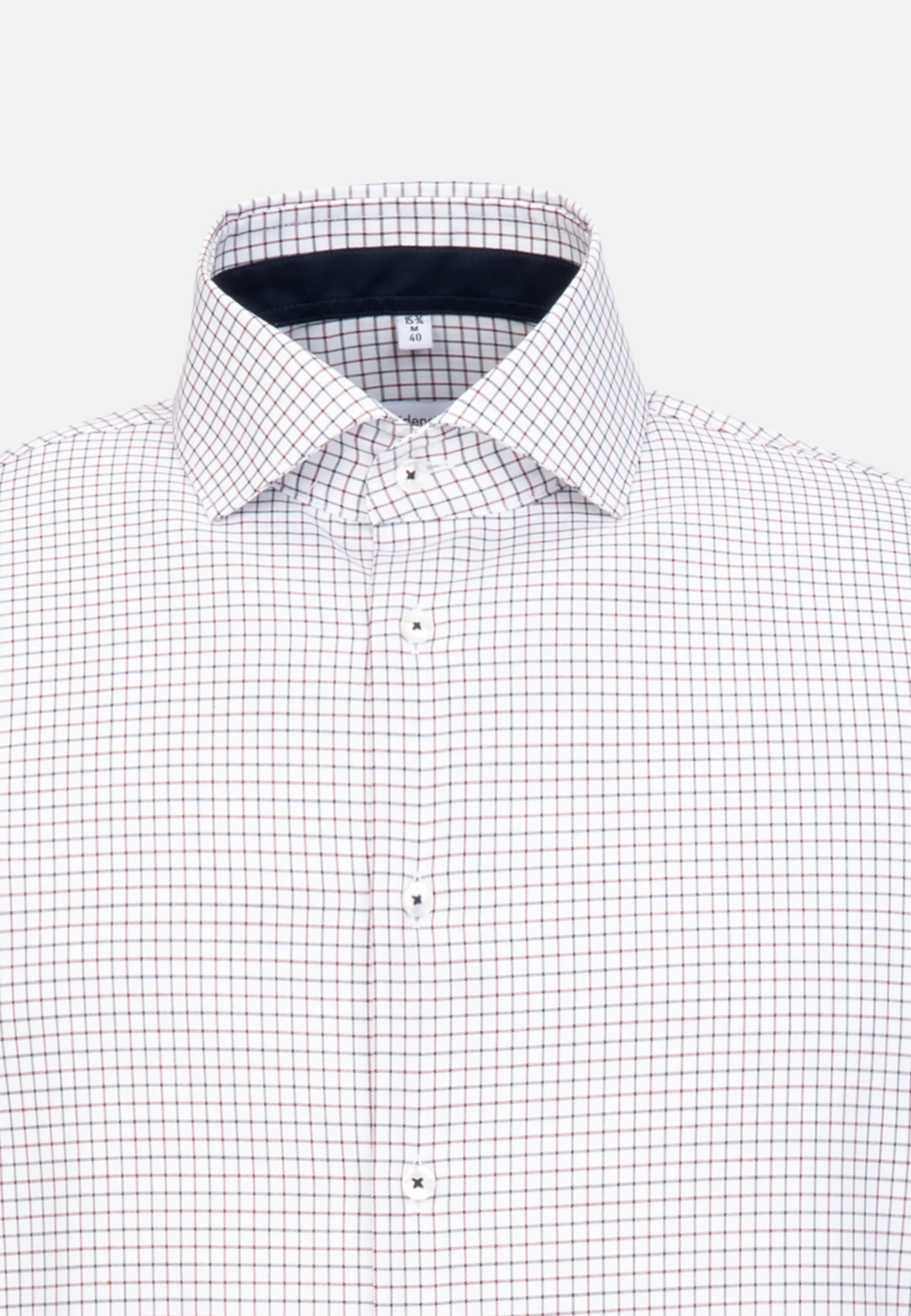 Non-iron Twill Business Shirt in Shaped with Kent-Collar in Red    Seidensticker Onlineshop