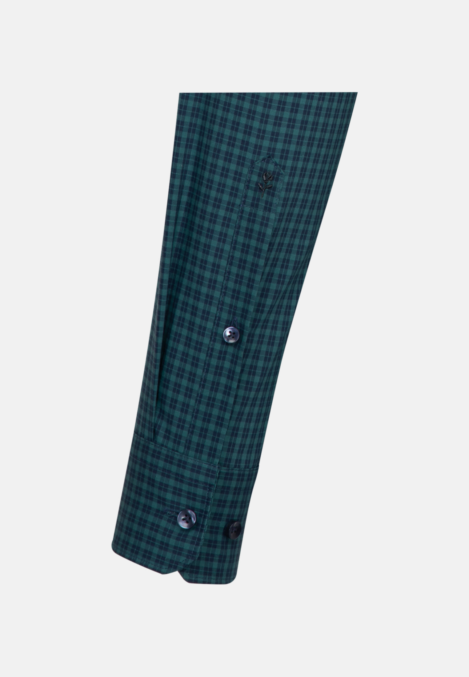 Non-iron Poplin Business Shirt in X-Slim with Button-Down-Collar in Green |  Seidensticker Onlineshop