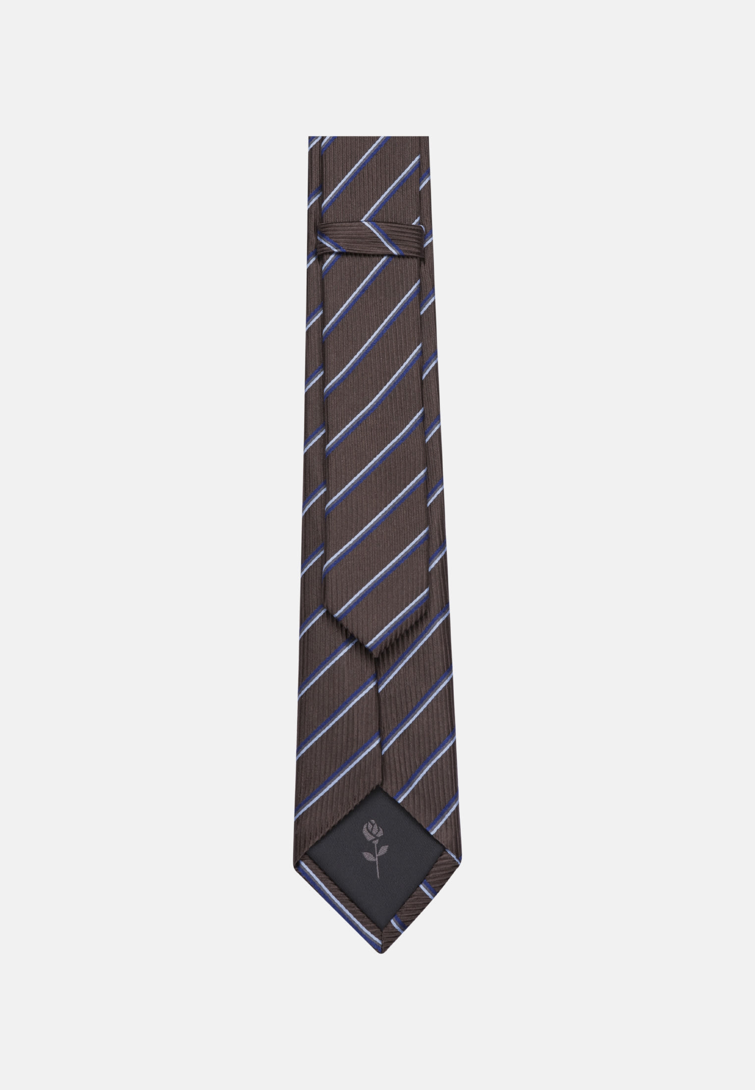 Tie made of 100% Silk 6 cm wide in Brown |  Seidensticker Onlineshop