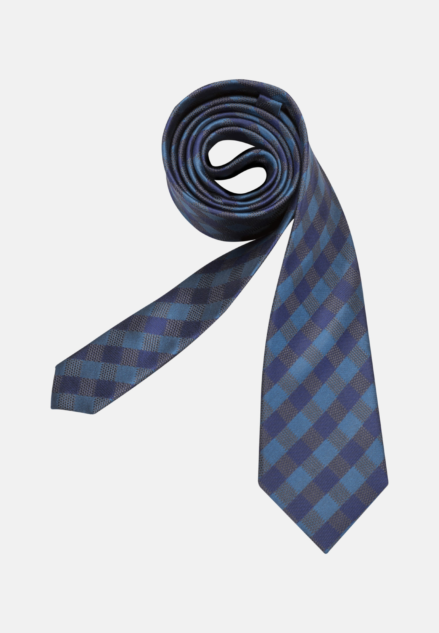 Tie made of 100% Silk 7 cm wide in Medium blue |  Seidensticker Onlineshop