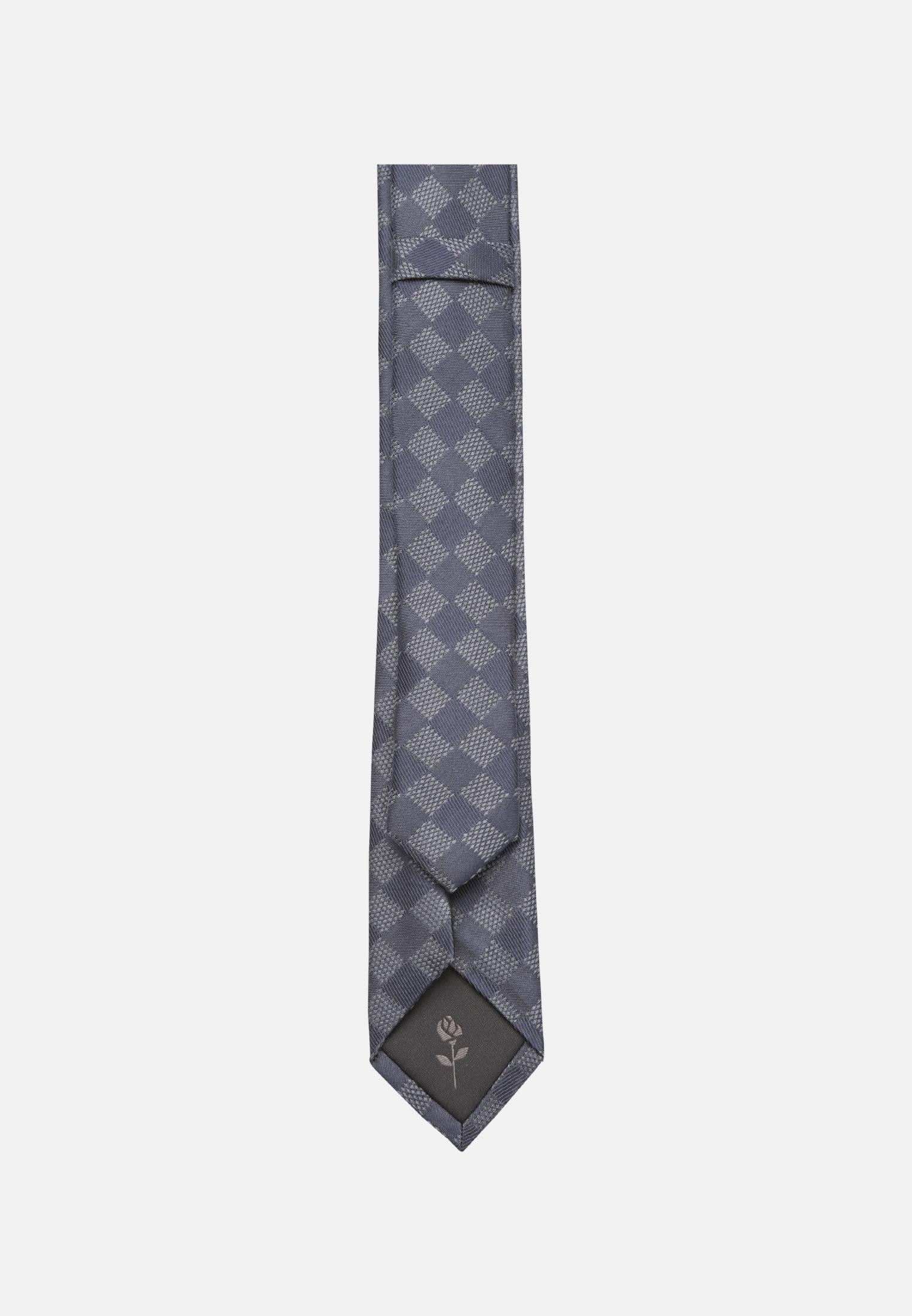 Tie made of 5 cm wide in Medium blue |  Seidensticker Onlineshop