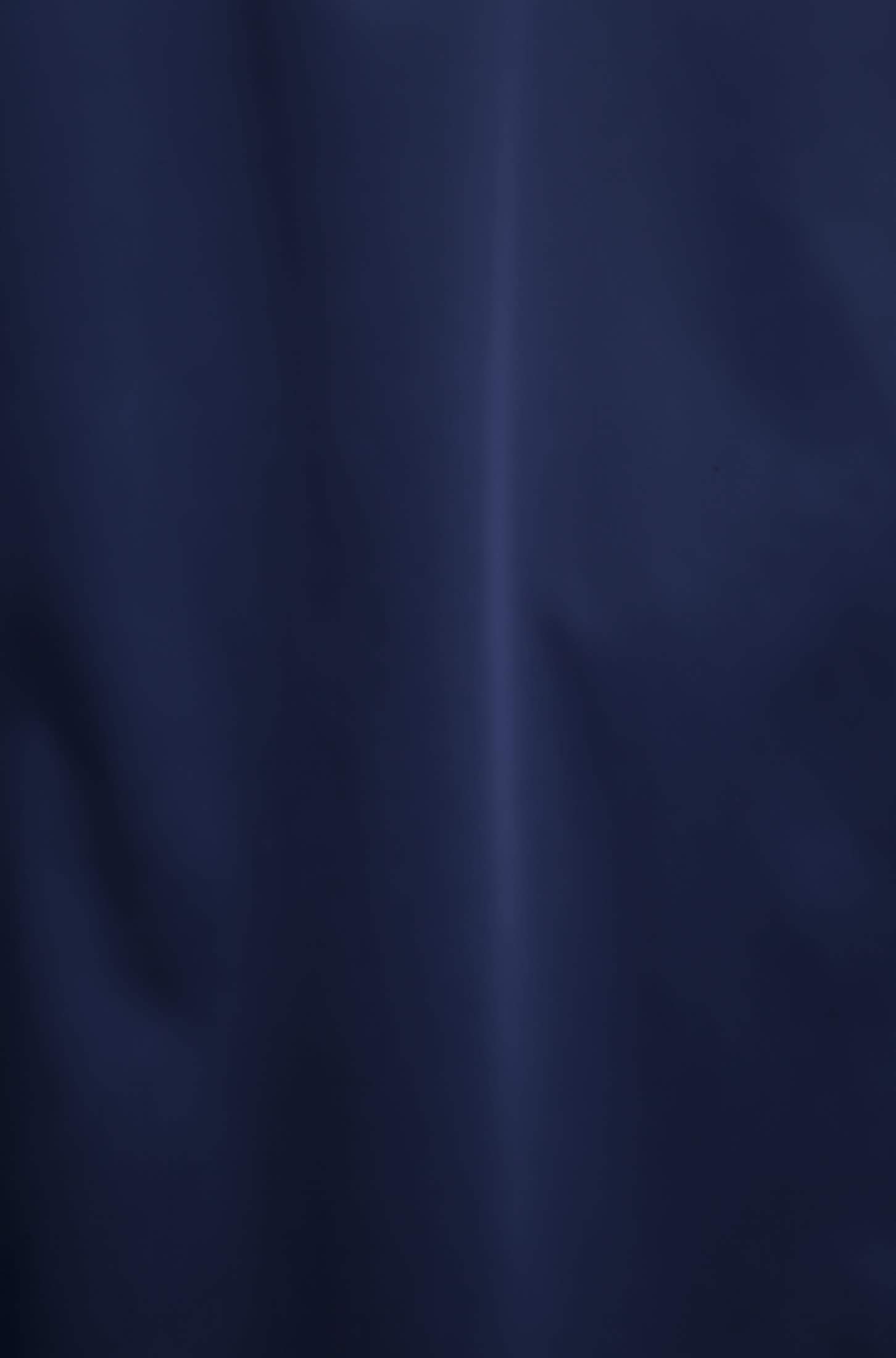 3/4 Arm Satin Stehkragenbluse aus Baumwollmischung in Dunkelblau |  Seidensticker Onlineshop
