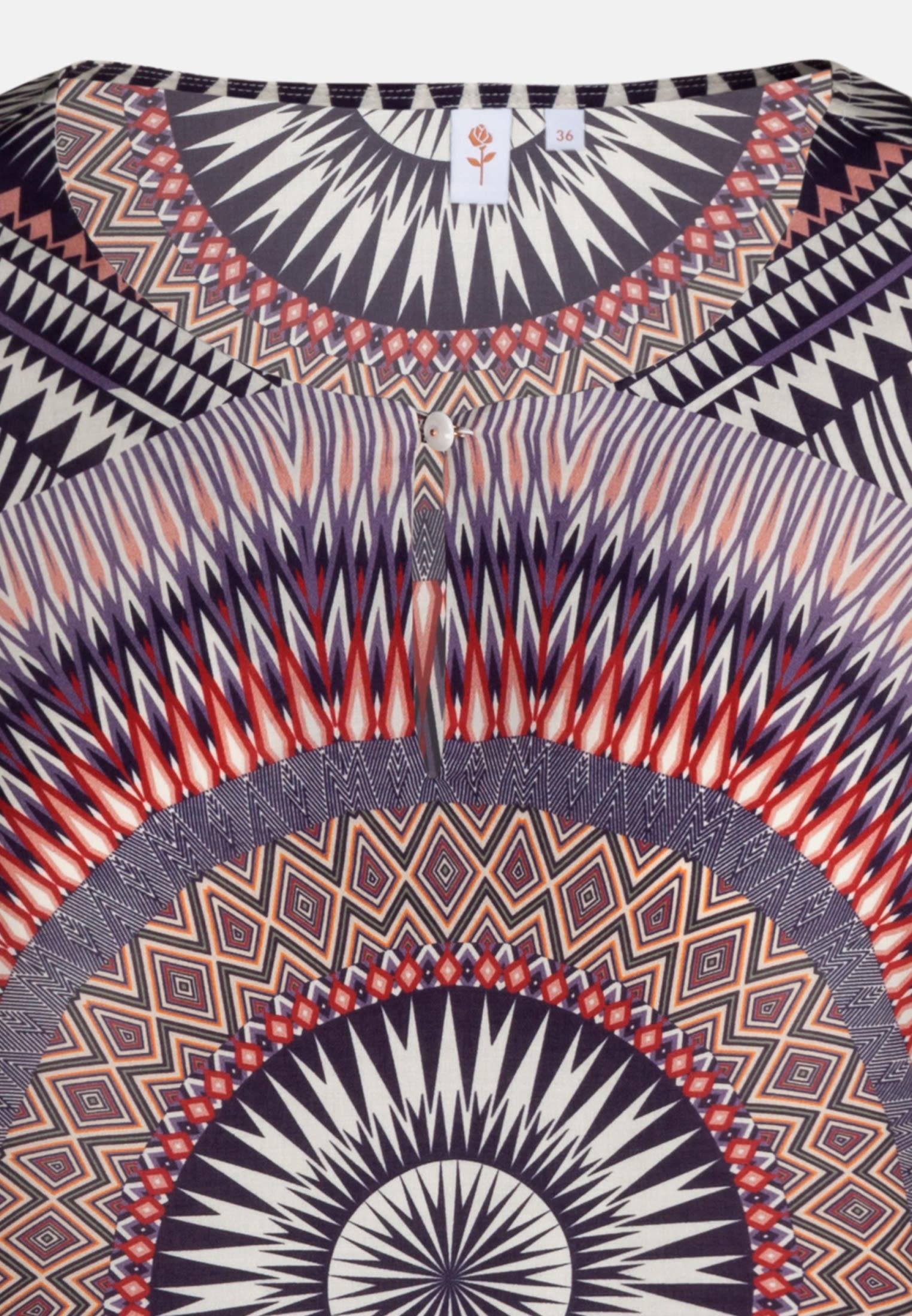 Voile Shirtbluse aus 100% Viskose in Lila |  Seidensticker Onlineshop